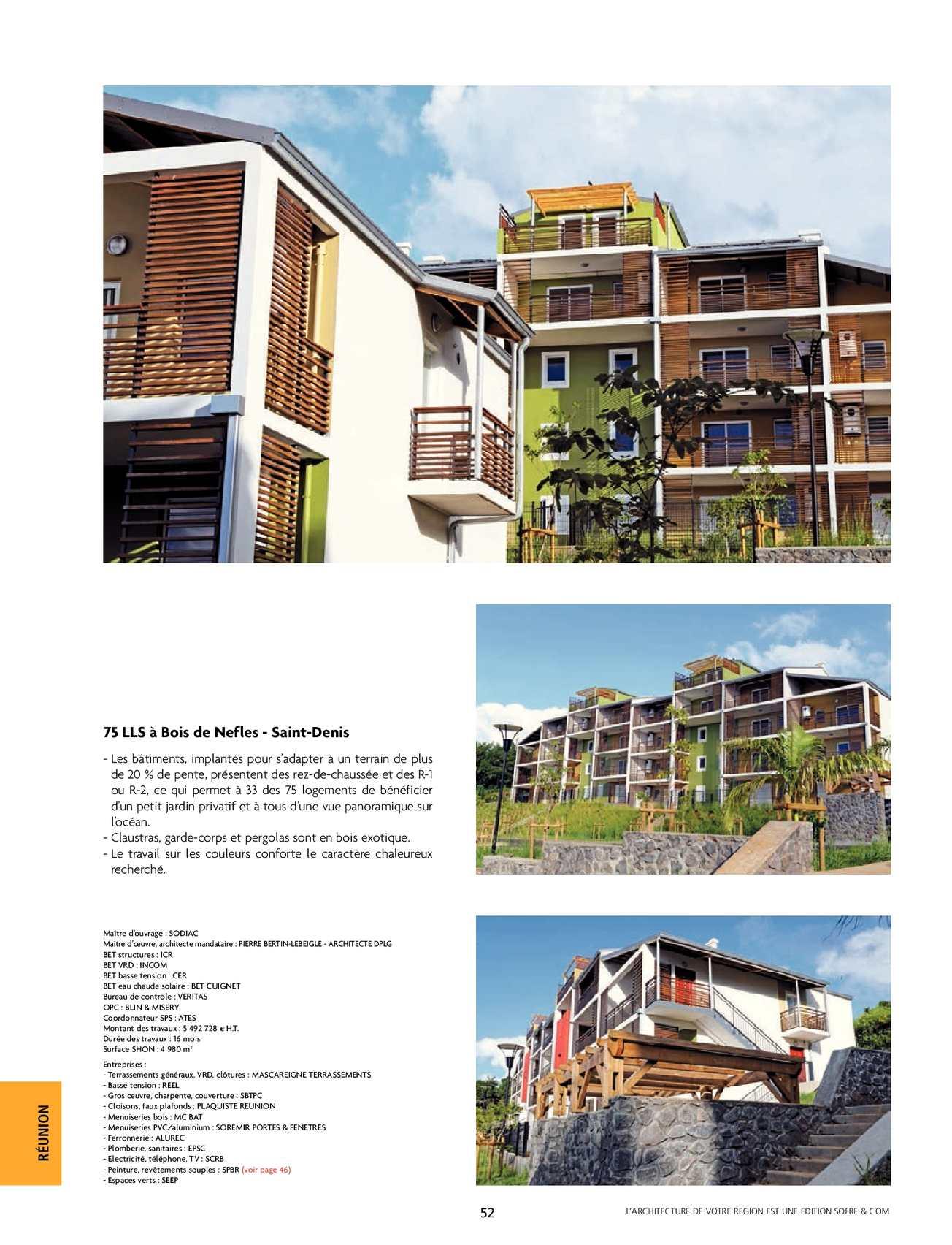 L Architecture De Votre Region Reunion Mayotte N 255  # Menuiserie:Download Images Meubles Tv