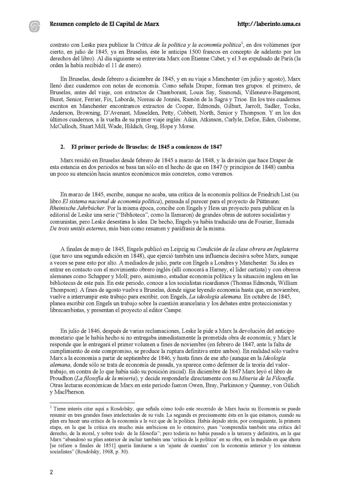 El Capital de Marx (Resumen) - CALAMEO Downloader