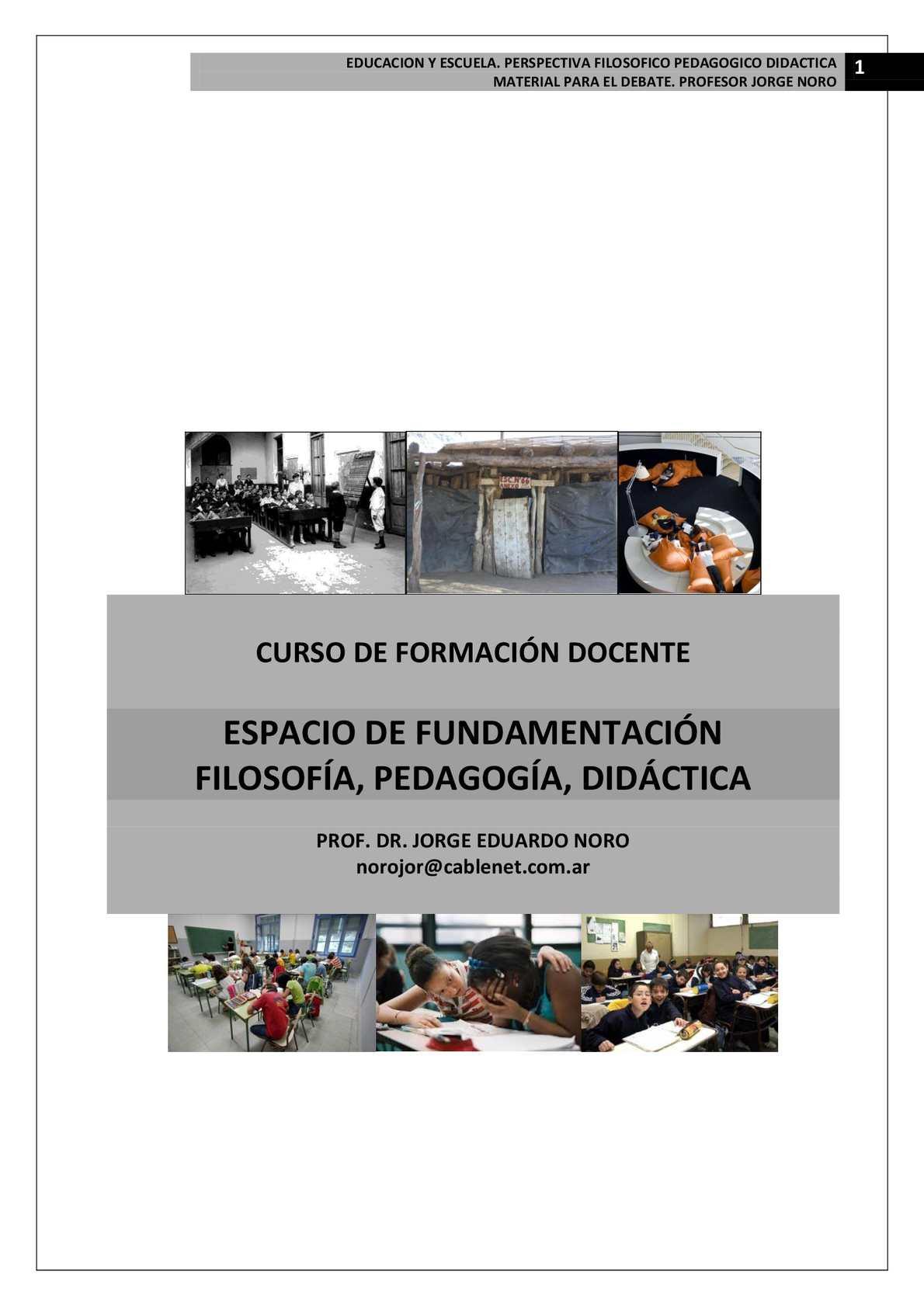 Calaméo - 147. CURSO DE FILOSOFIA, PEDAGOGIA Y DIDACTICA PARA LA ...