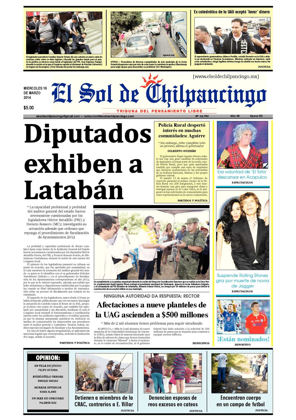 Calaméo - El Sol de Chilpancingo