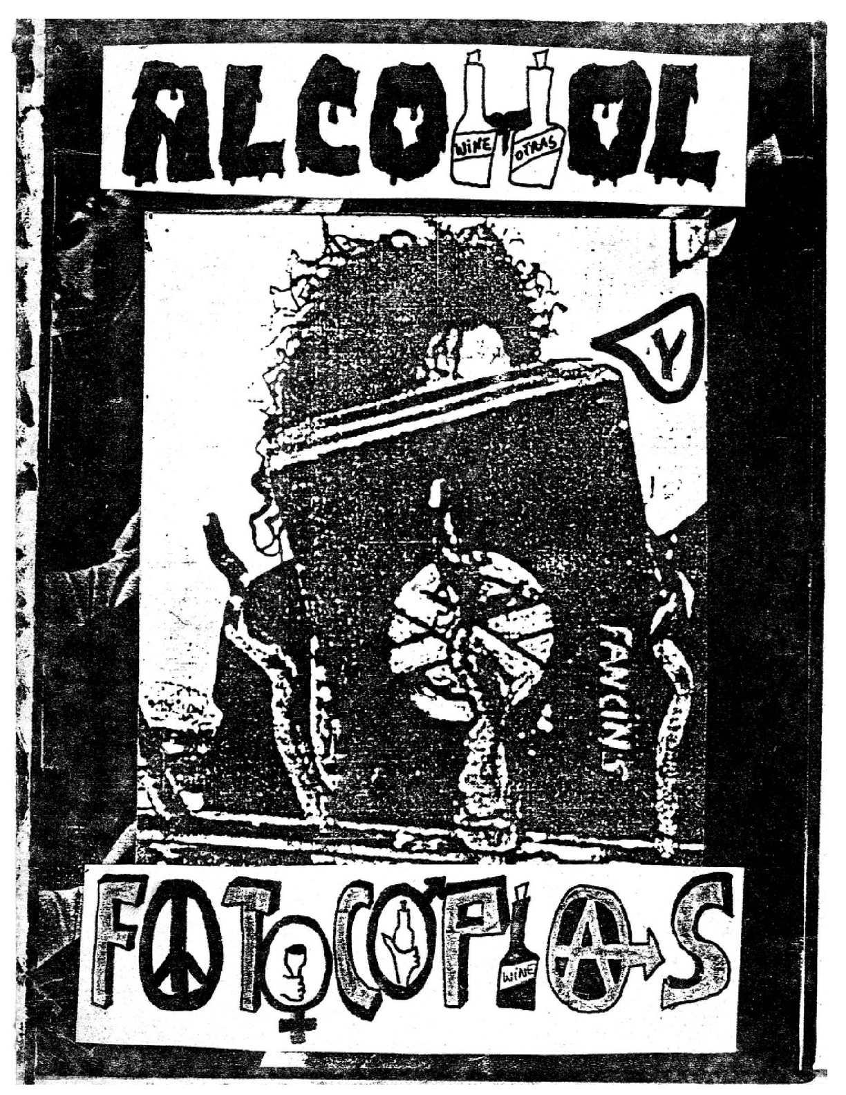 ALKOL Y FOTOCOPIAS 1990 bs as argentina punkzine