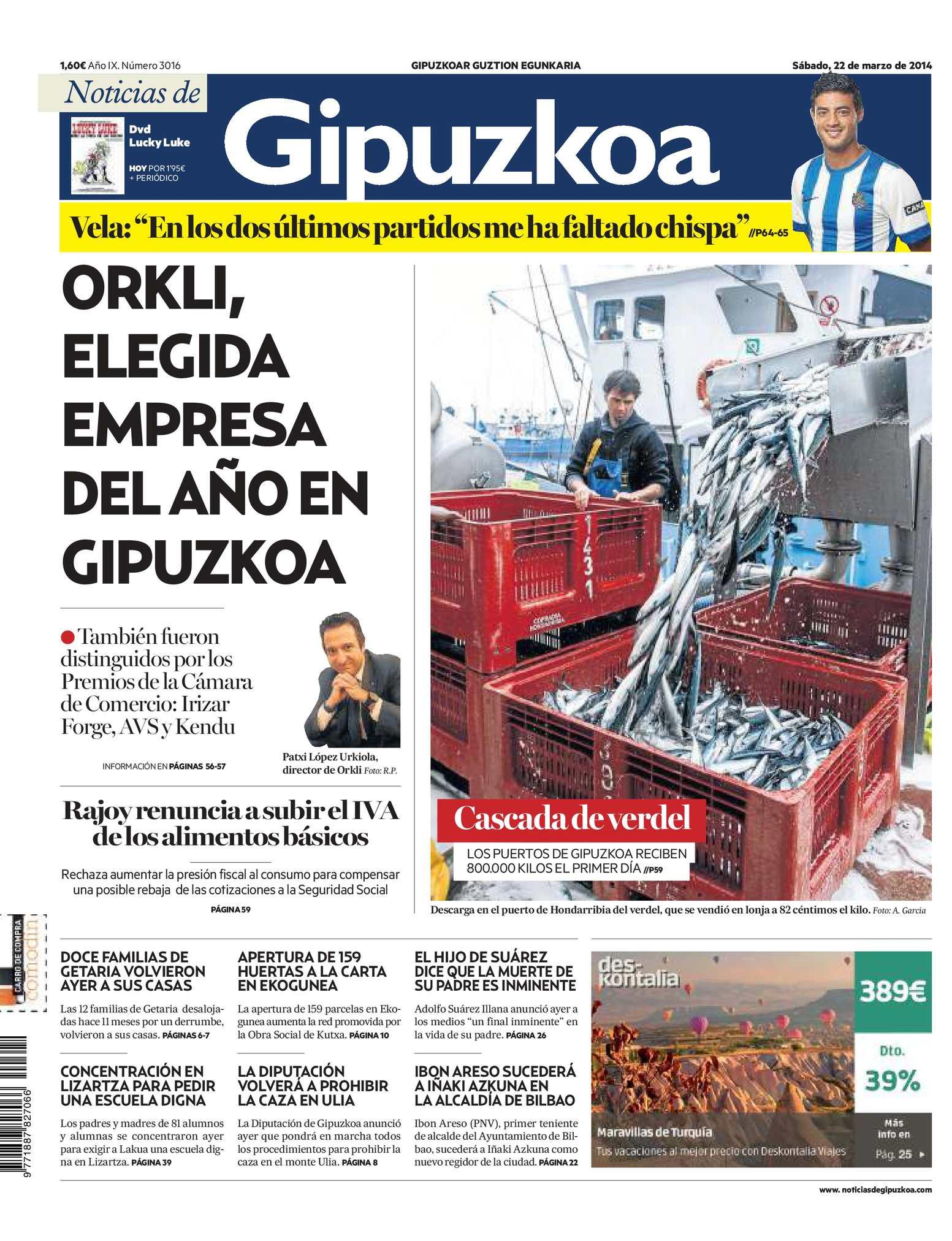 Calaméo - Noticias de Gipuzkoa 20140322
