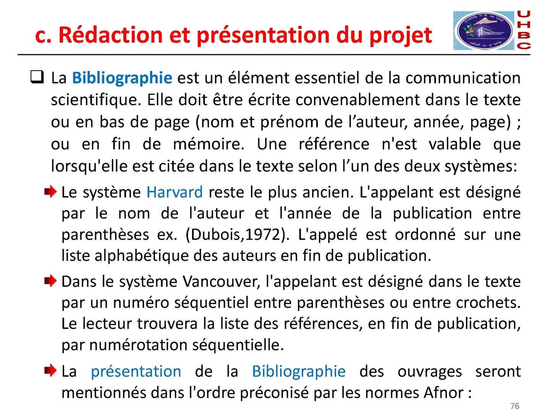 référence bibliographique norme