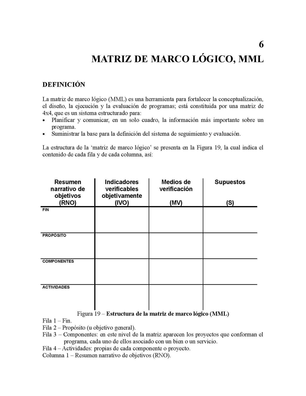 Calaméo - MATRIZ DE MARCO LÓGICO, MML