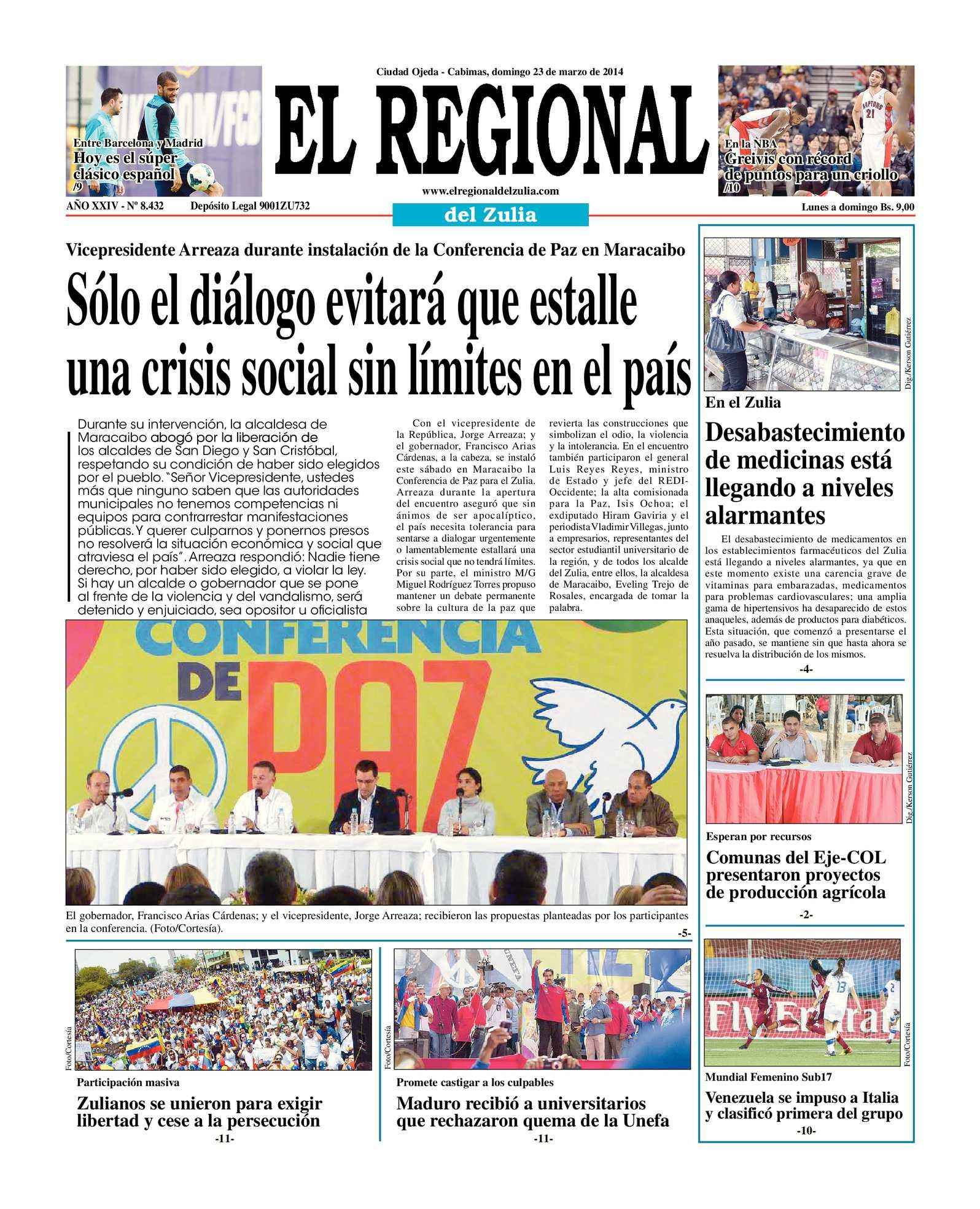 Calaméo - El regional del zulia 23-03-2014
