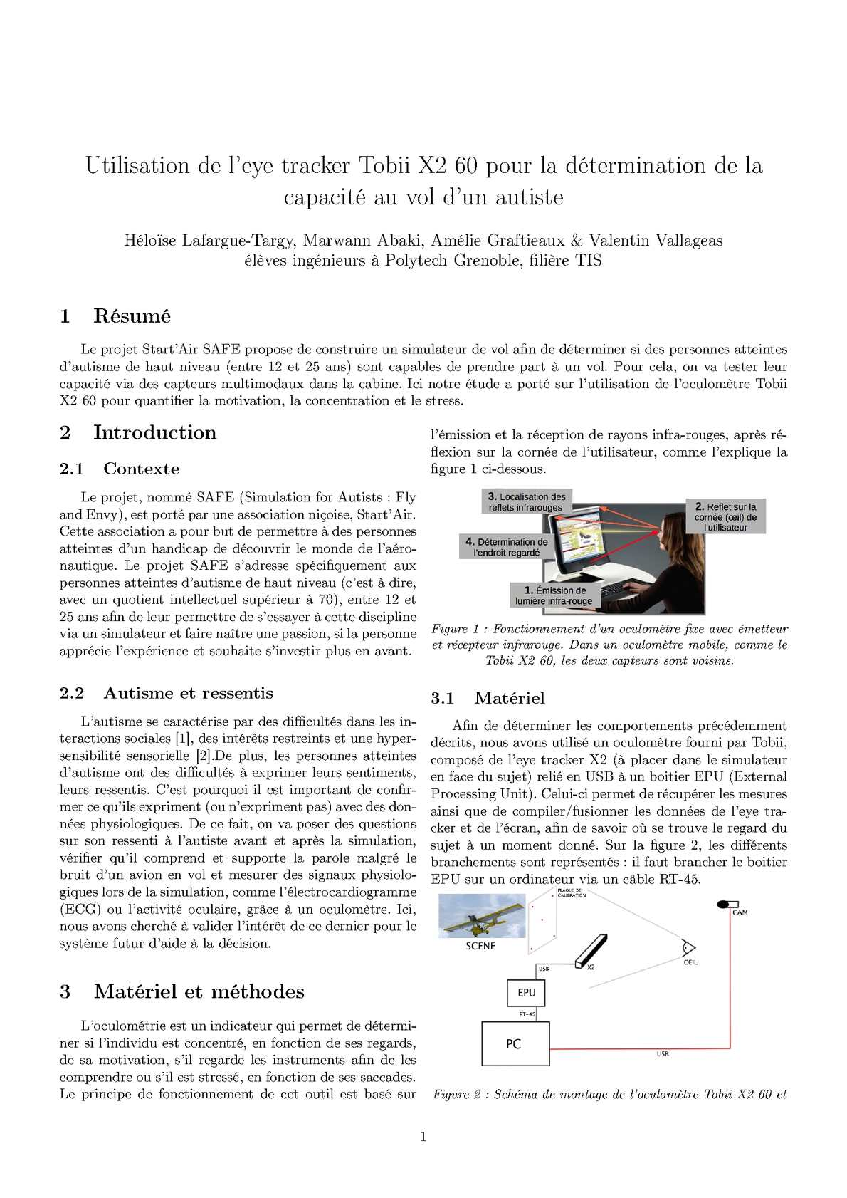 Calam o utilisation de l eye tracker tobii x2 60 pour la - Capacite calorifique de l air ...
