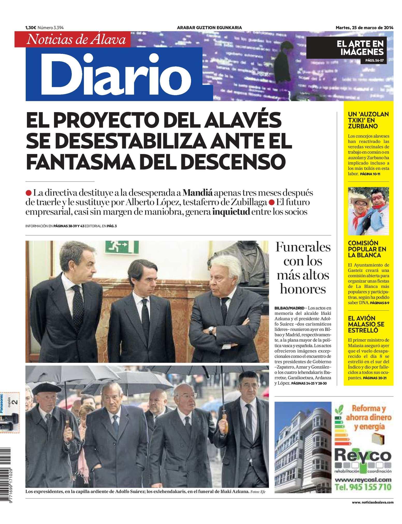 Calaméo - Diario de Noticias de Álava 20140325
