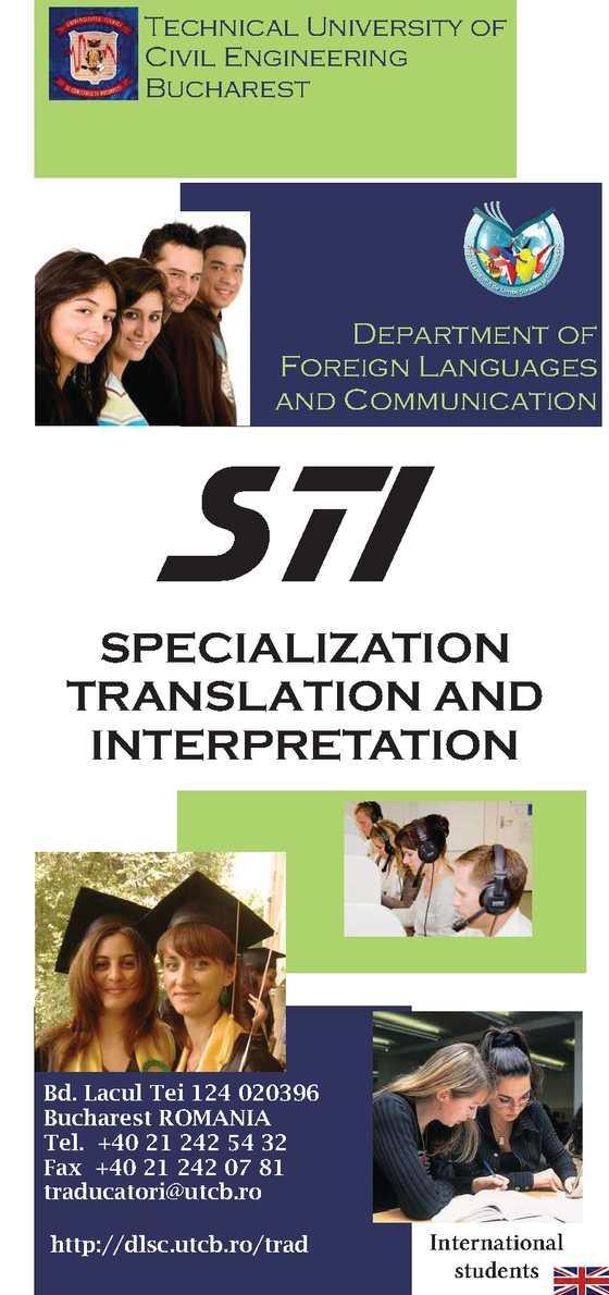 Specialization Translation and Interpretation