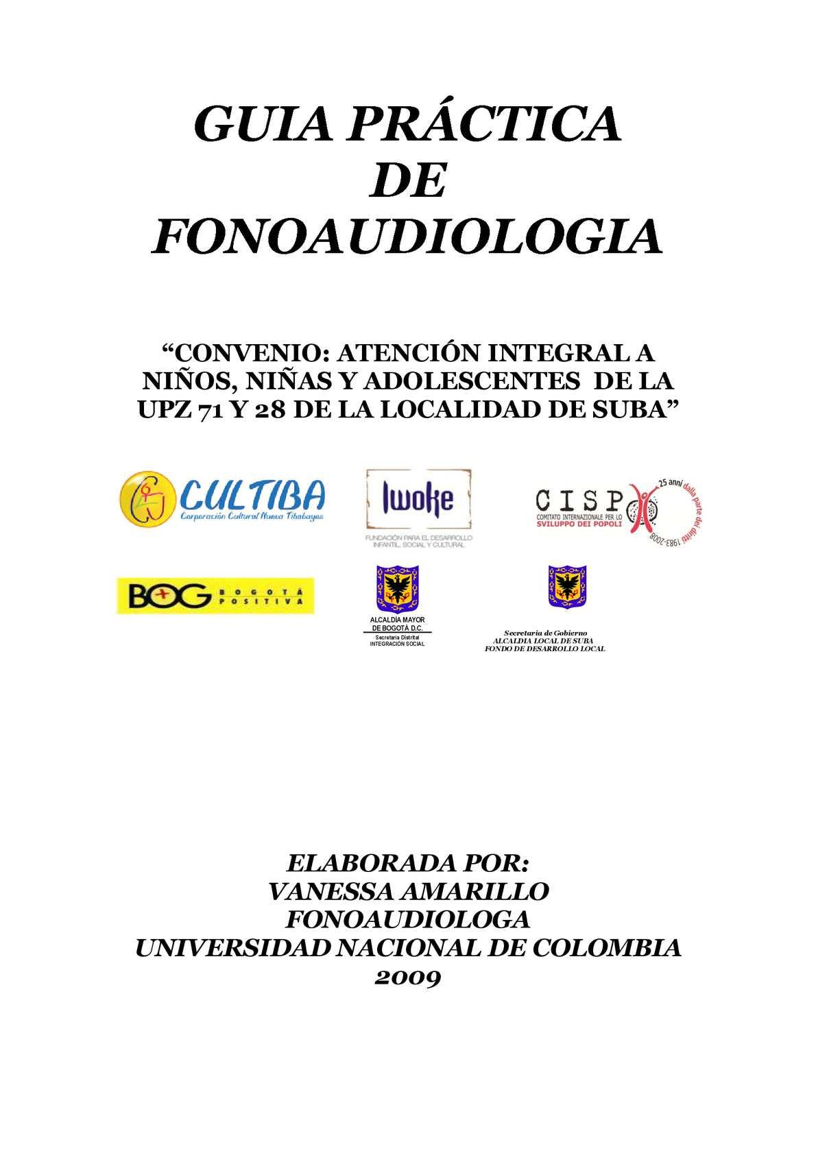 Calaméo - GUIA DE FONOAUDIOLOGIA