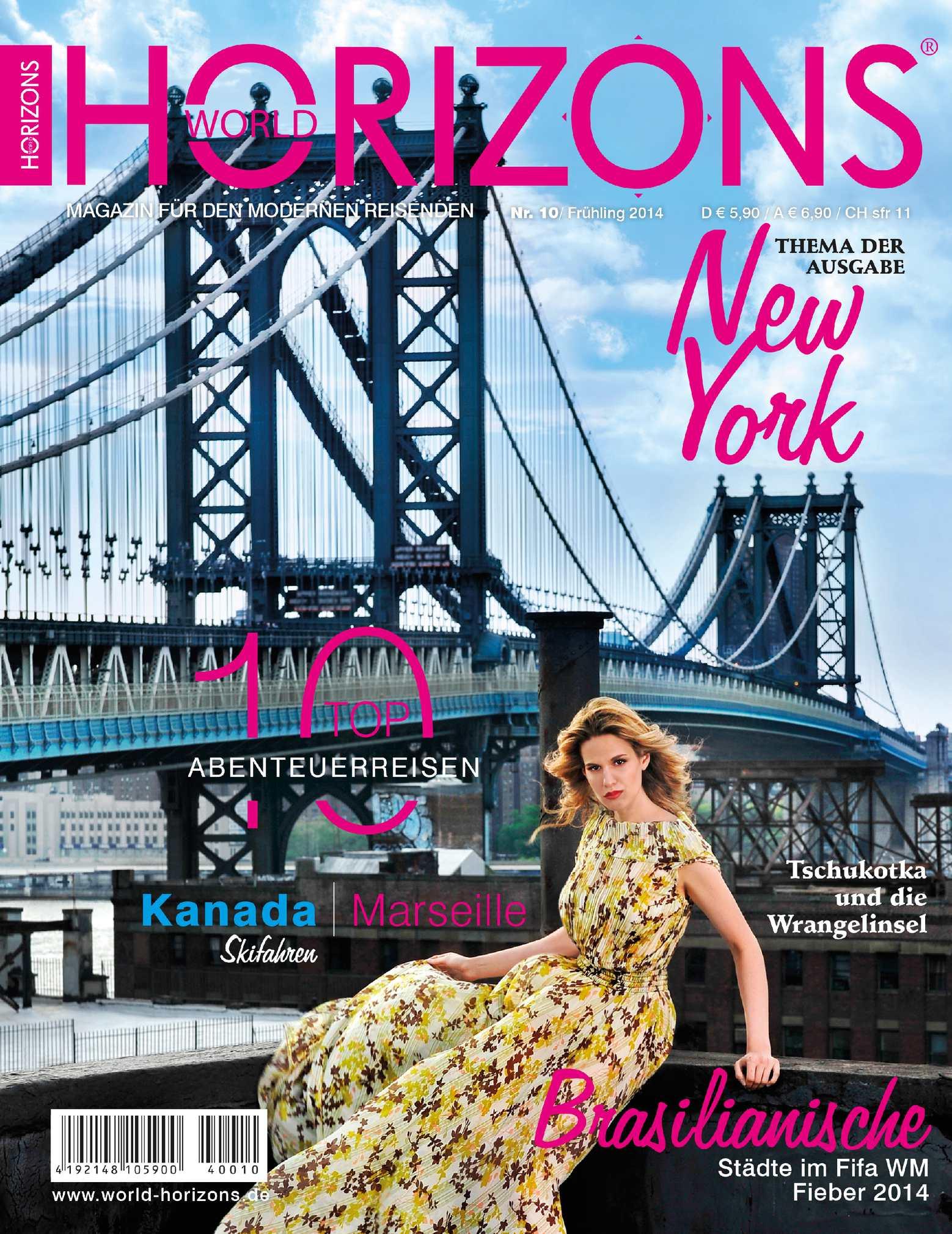 World Horizons Nummer 10 - Frühling 2014