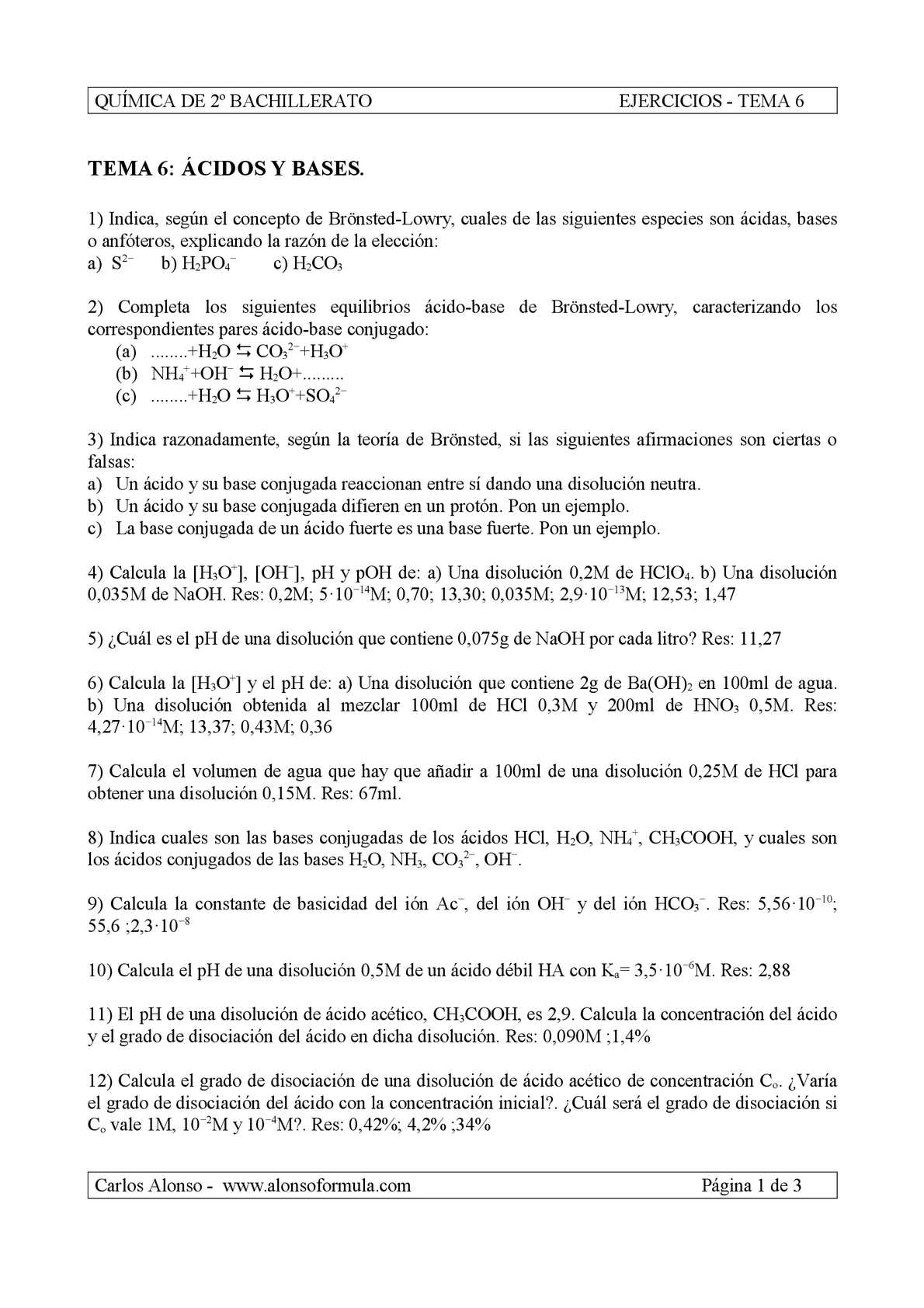 Calaméo - Ejercicios ácido-base