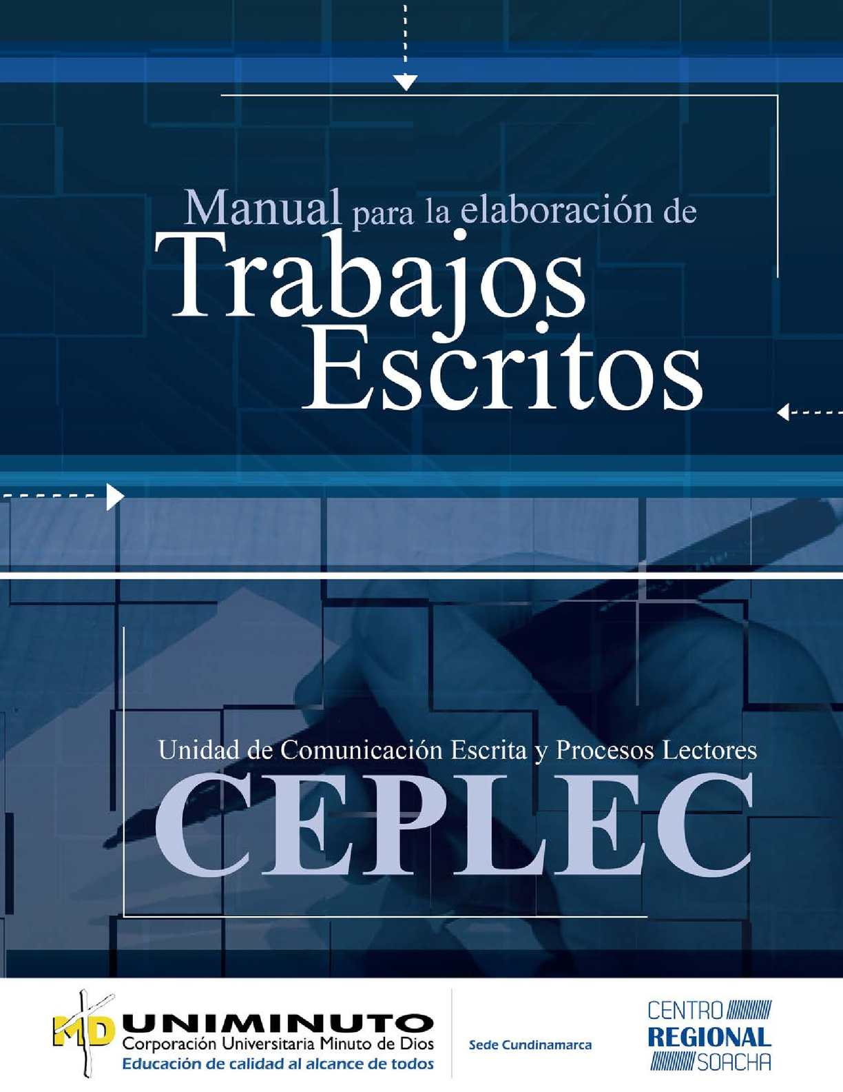 Calam o manual de trabajos escritos versi n final 2 for Manual de acuicultura pdf