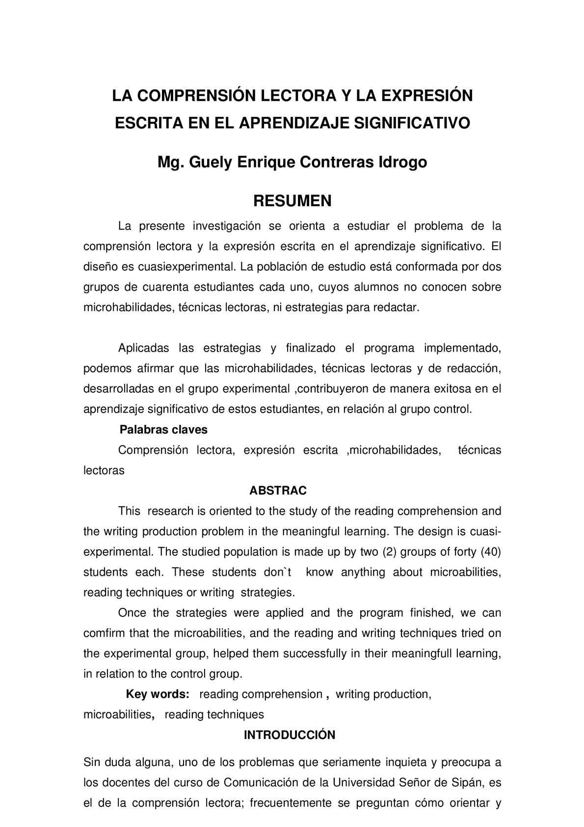 Calaméo - Comprensión Lectora y Expresión Escrita en el Aprendizaje ...