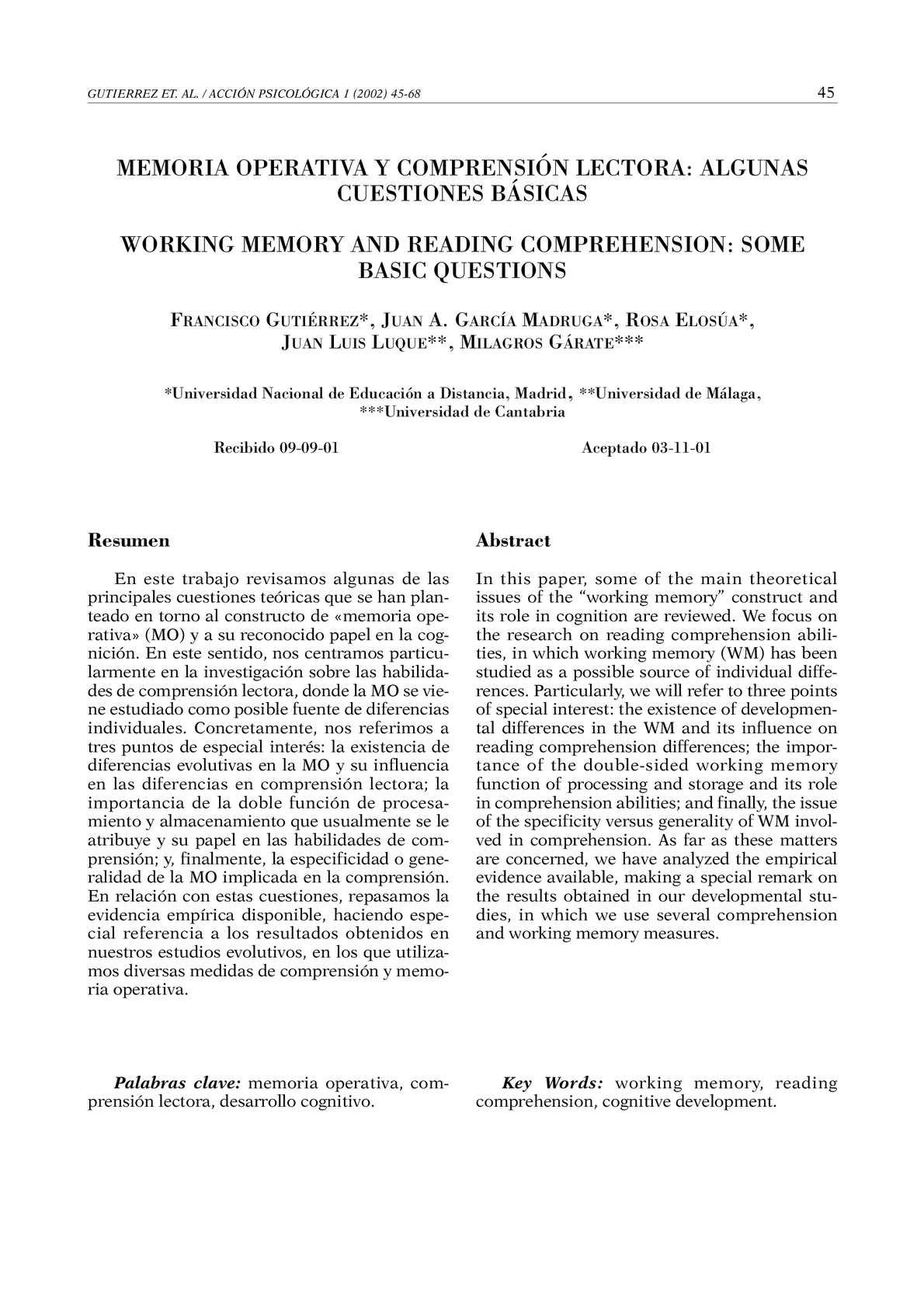 Calaméo - Memoria Operativa y Comprensión Lectora_Algunas Cuestiones ...