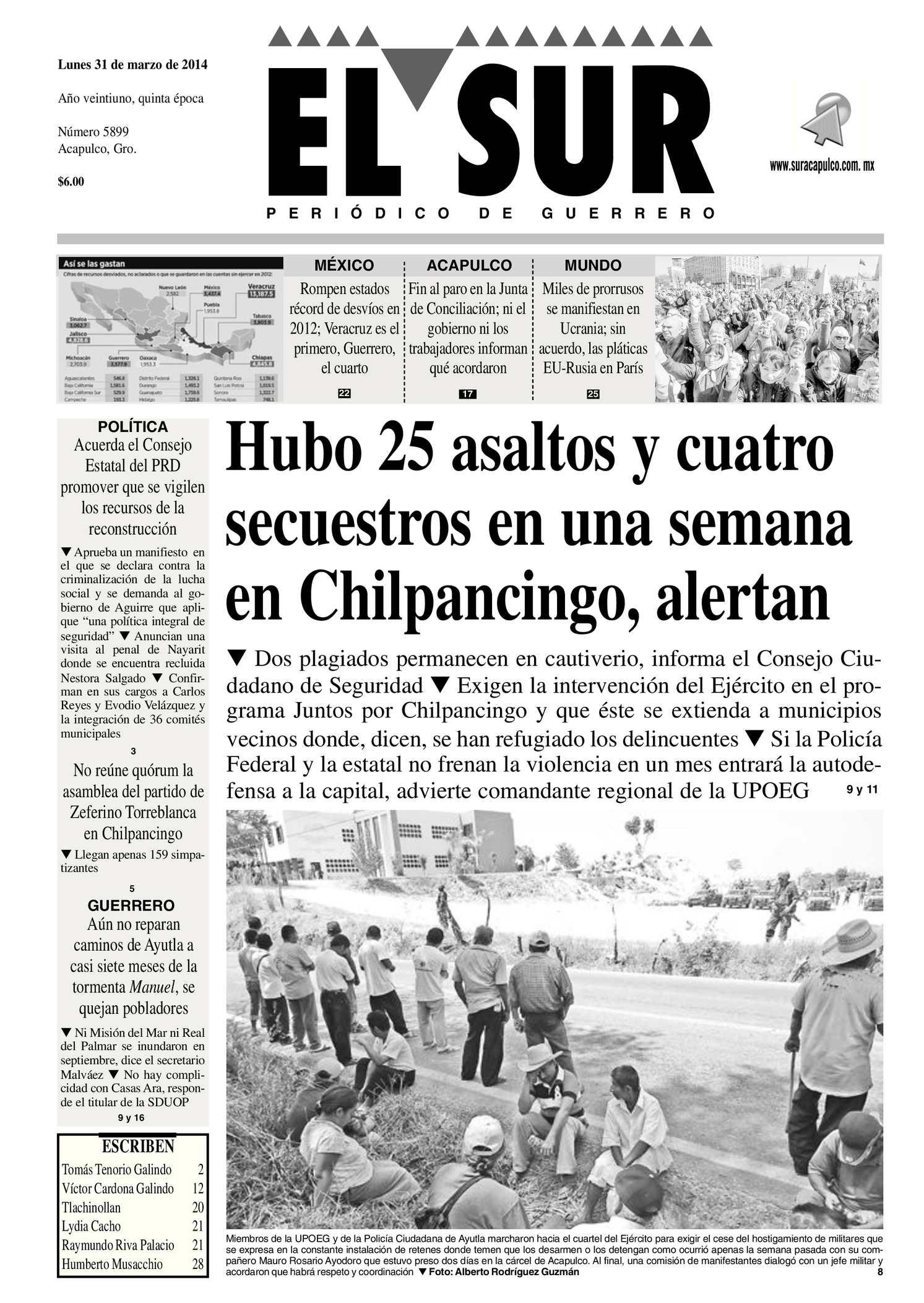 Calaméo - El Sur Lunes 31032014.pdf
