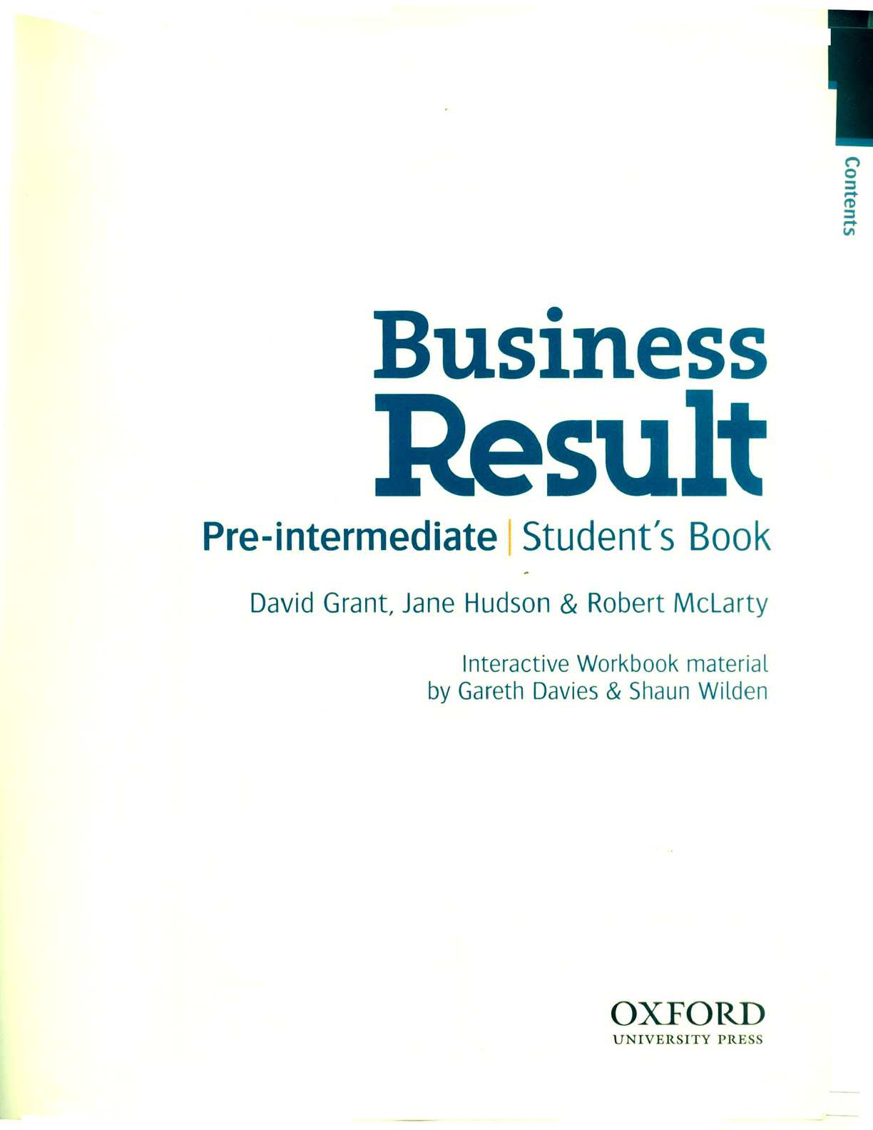 Решебник pre-intermediate workbook business result