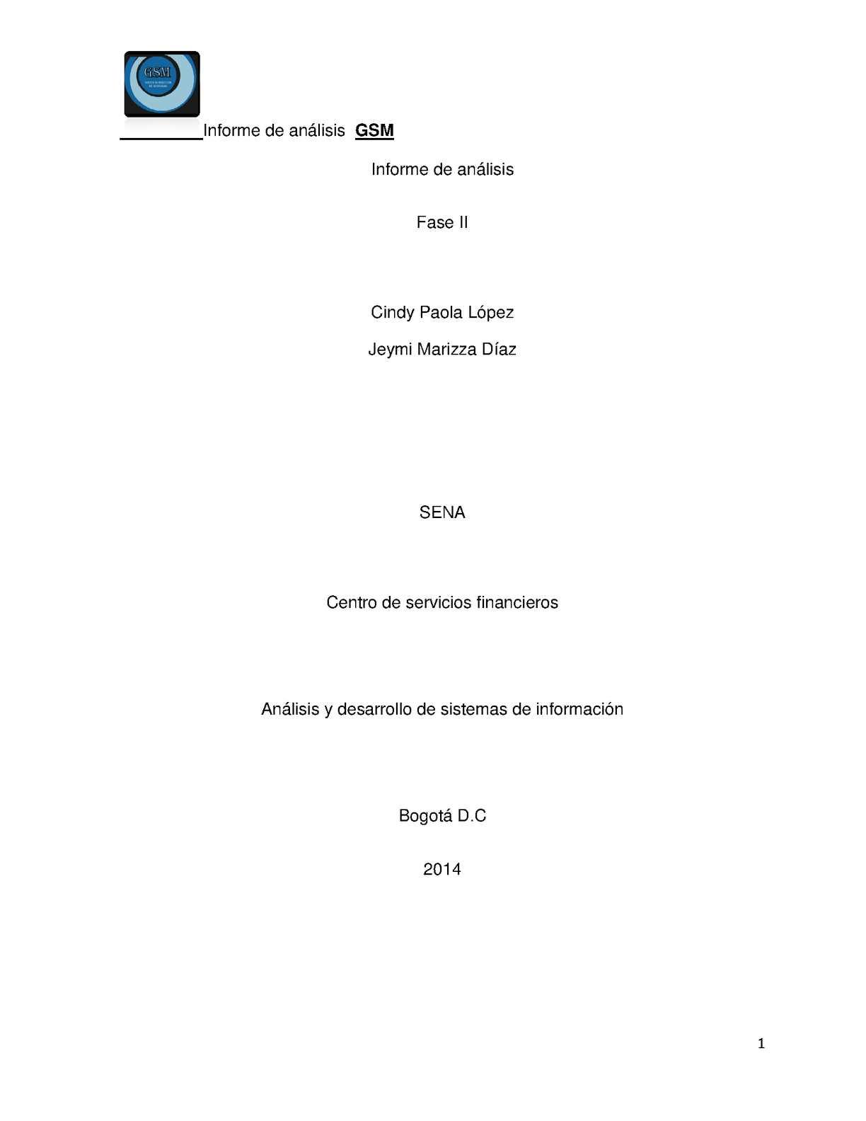 Calaméo - Informe de Análisis Fase II