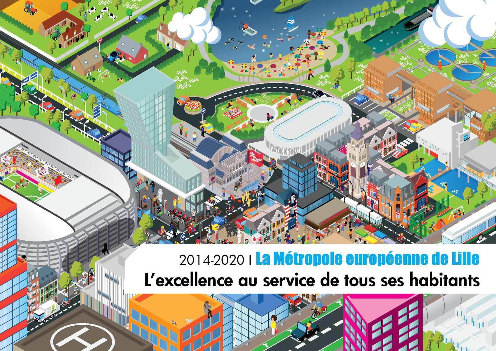 Calaméo 2014 2020 La Métropole européenne de Lille par Martine