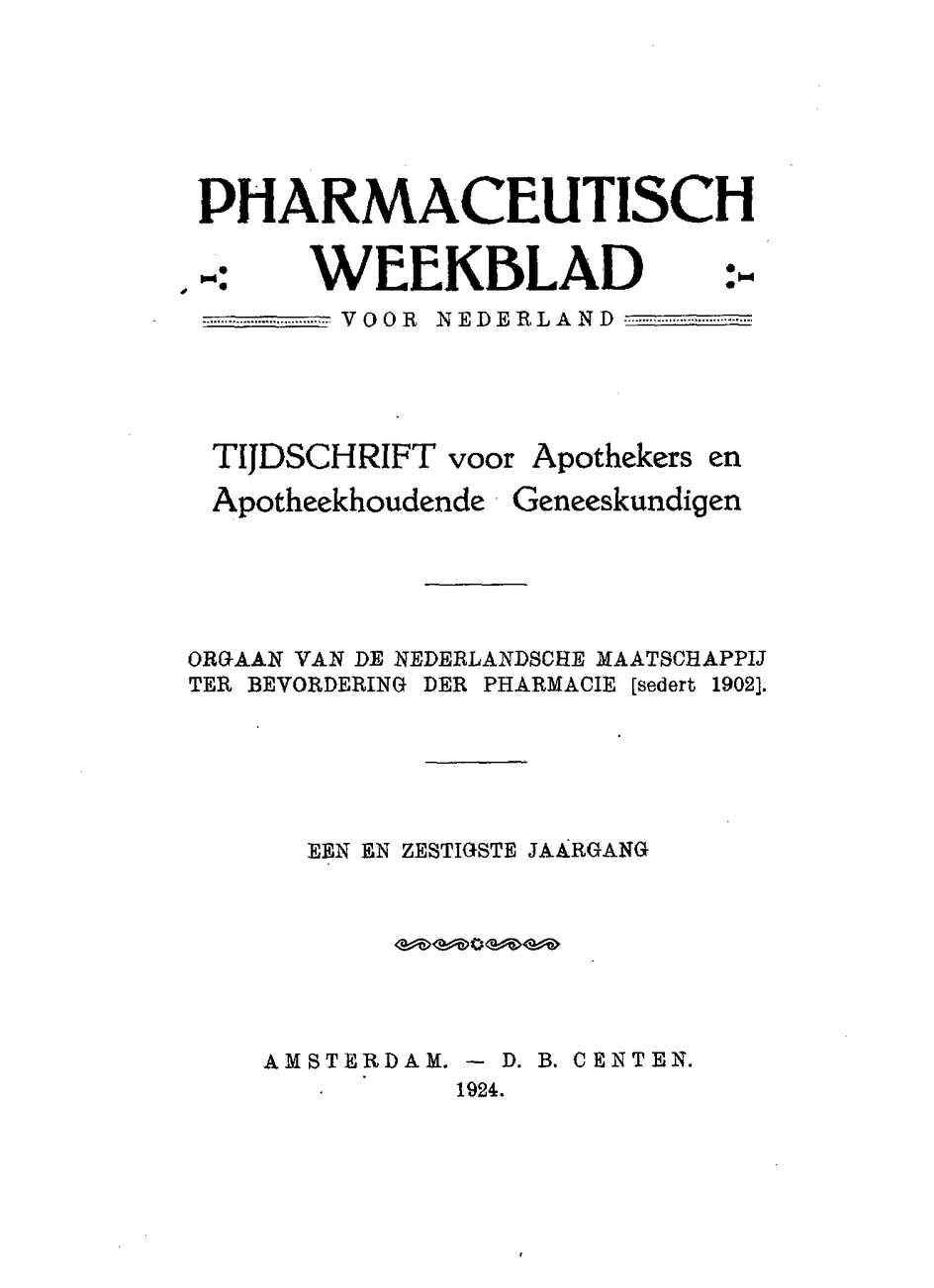 Calaméo - 1924, jaargang 61