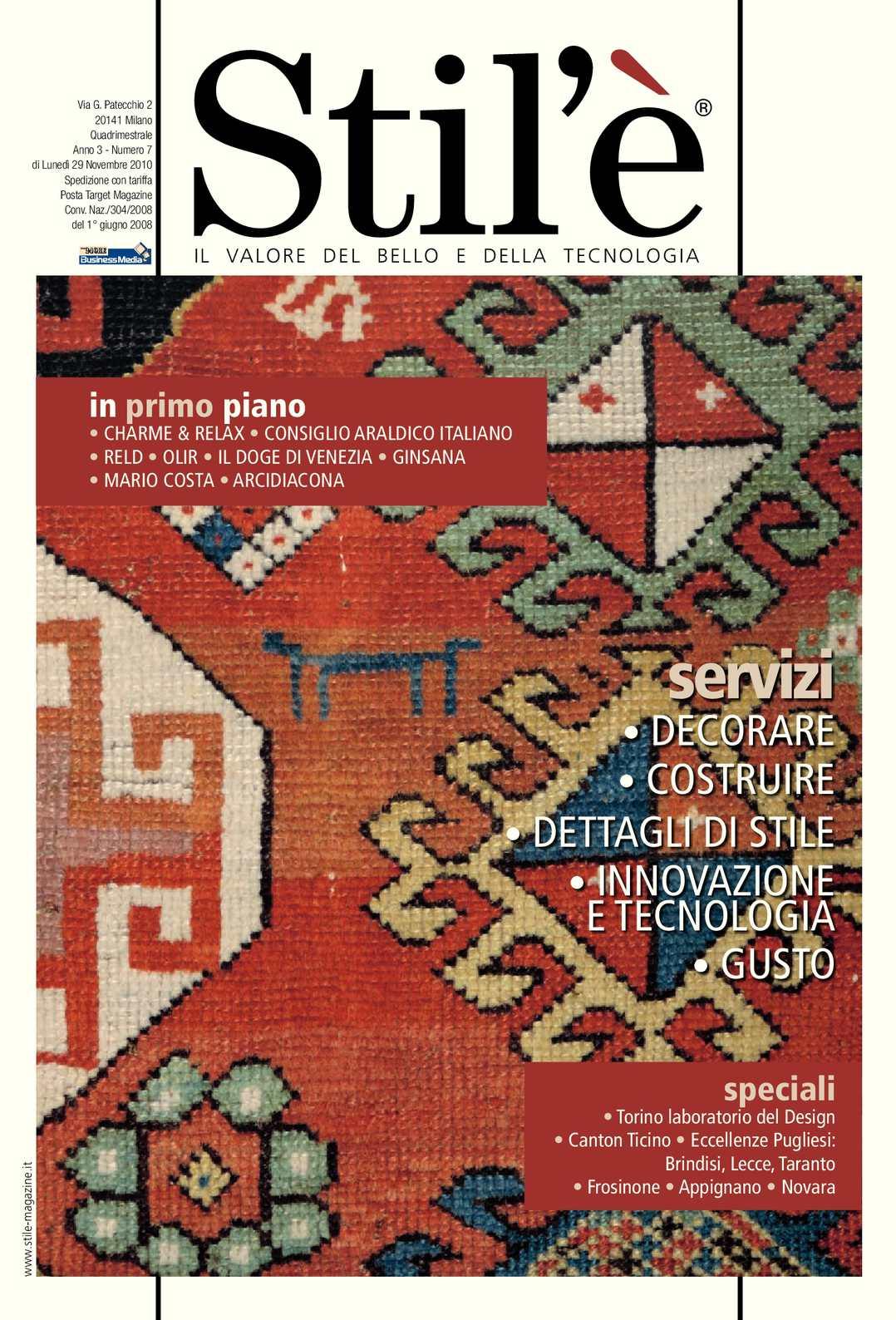 Calaméo - Stil è Magazine Novembre 2010 29126632b13
