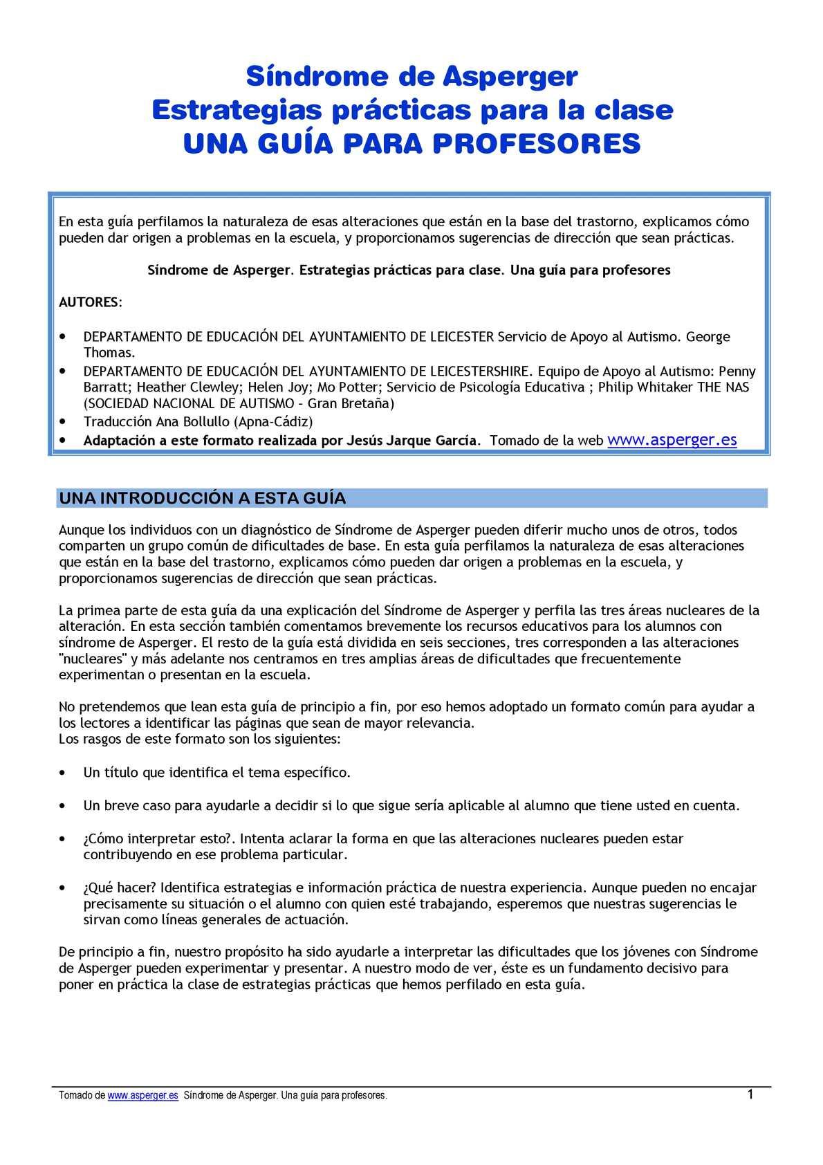 Calaméo - Guía práctica profesores