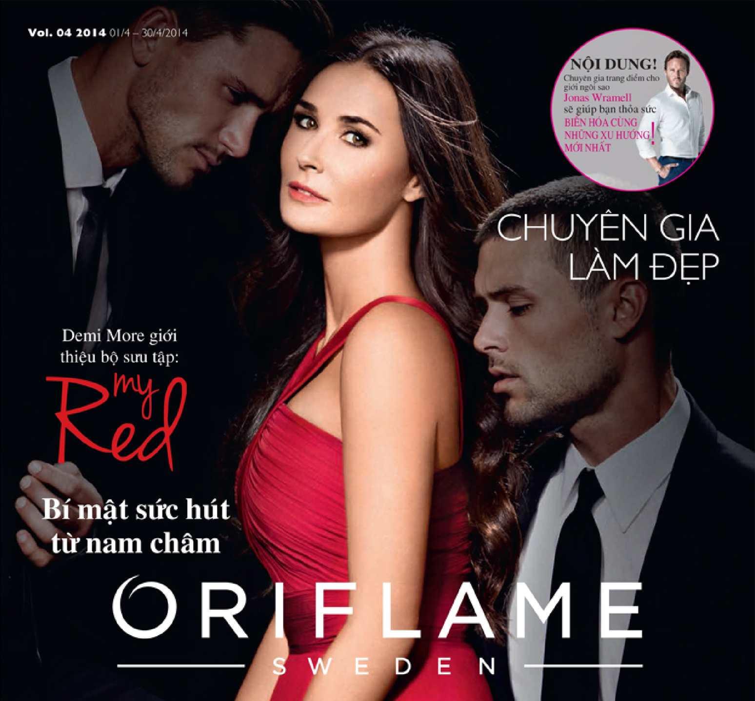 Catalogue My Pham Oriflame 4-2014
