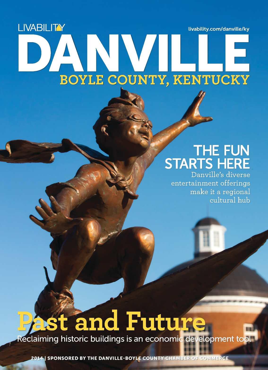 Calamo Livability Danville Boyle County Ky 2014