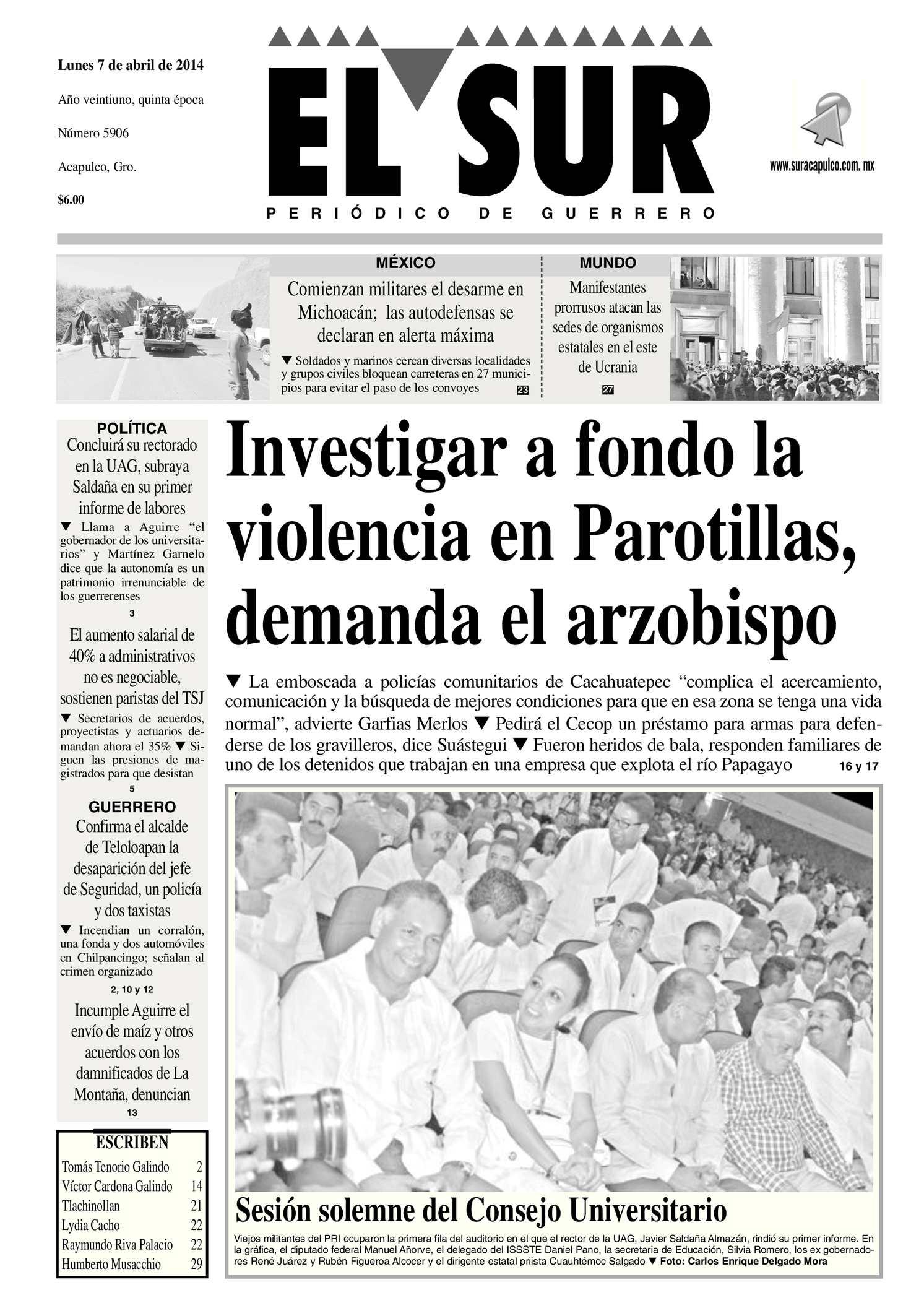 Calaméo - El Sur Lunes 07042014.pdf
