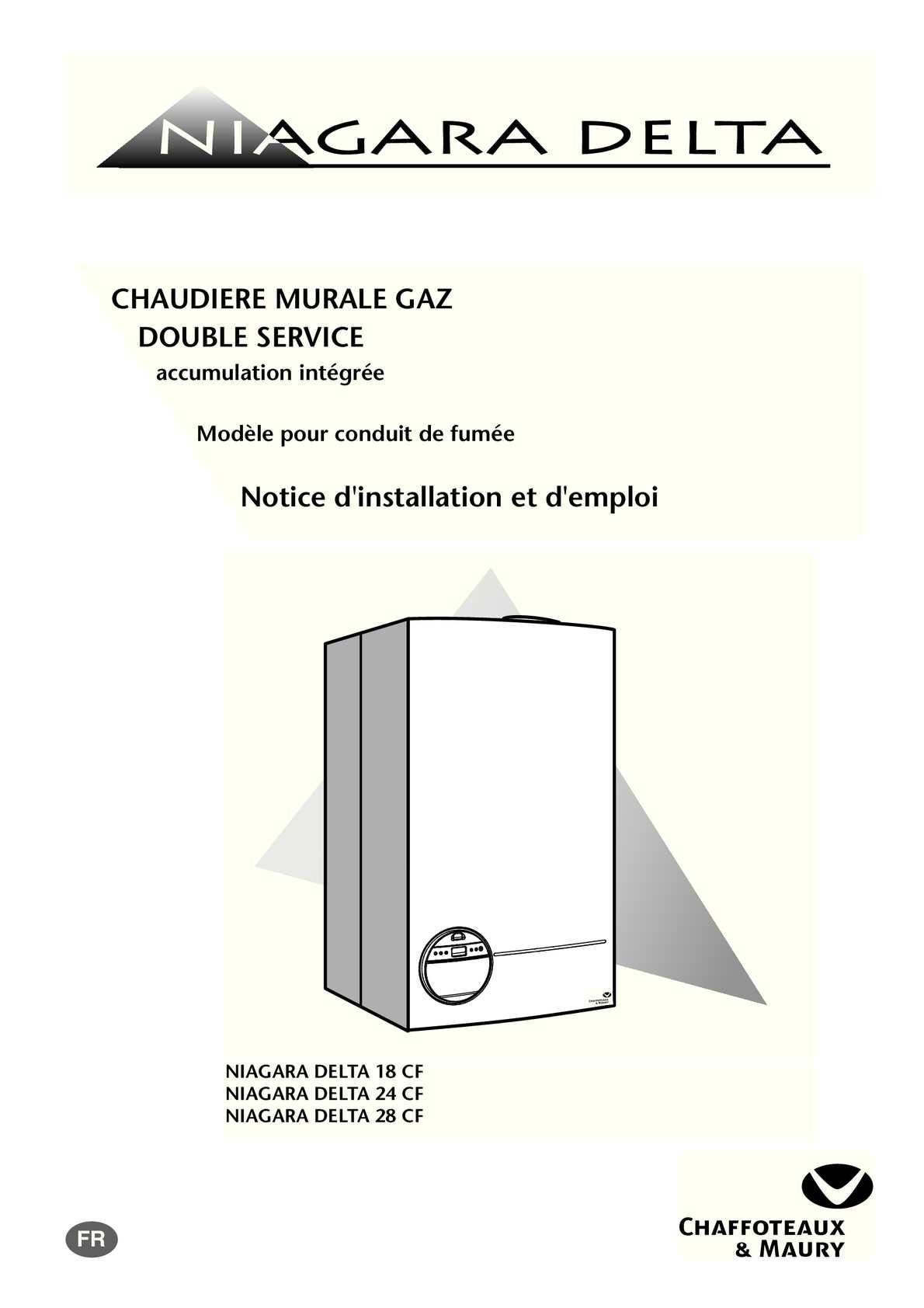 Calam o pdf notice chaudi re niagara delta - Vidanger circuit chauffage ...