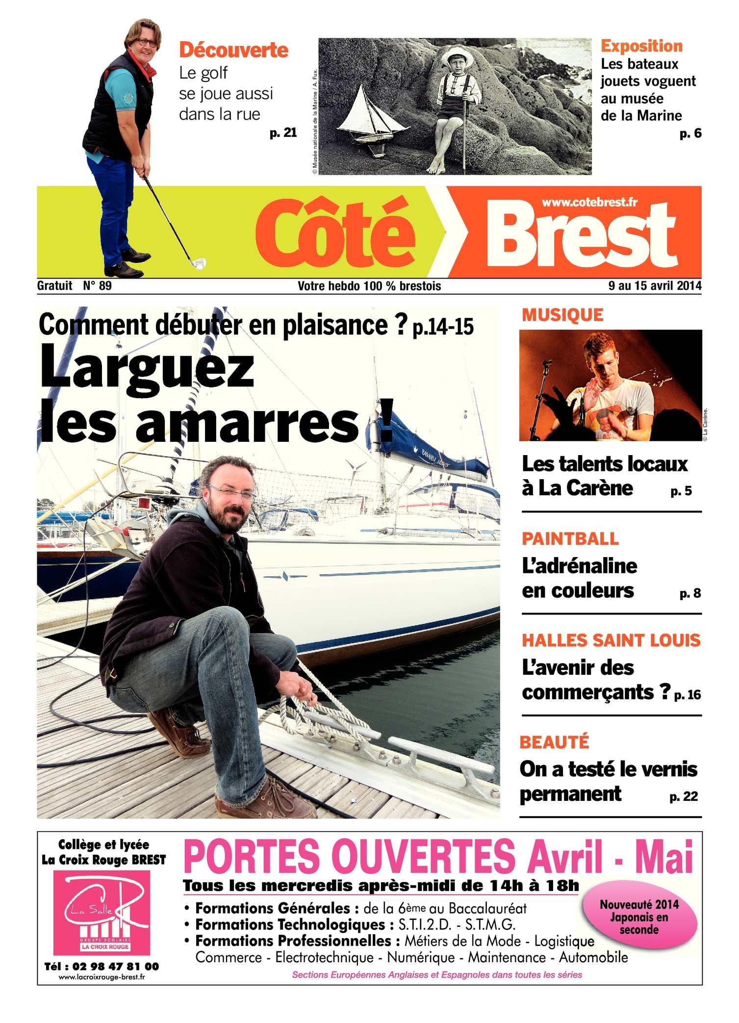Calaméo Cote Brest n°89
