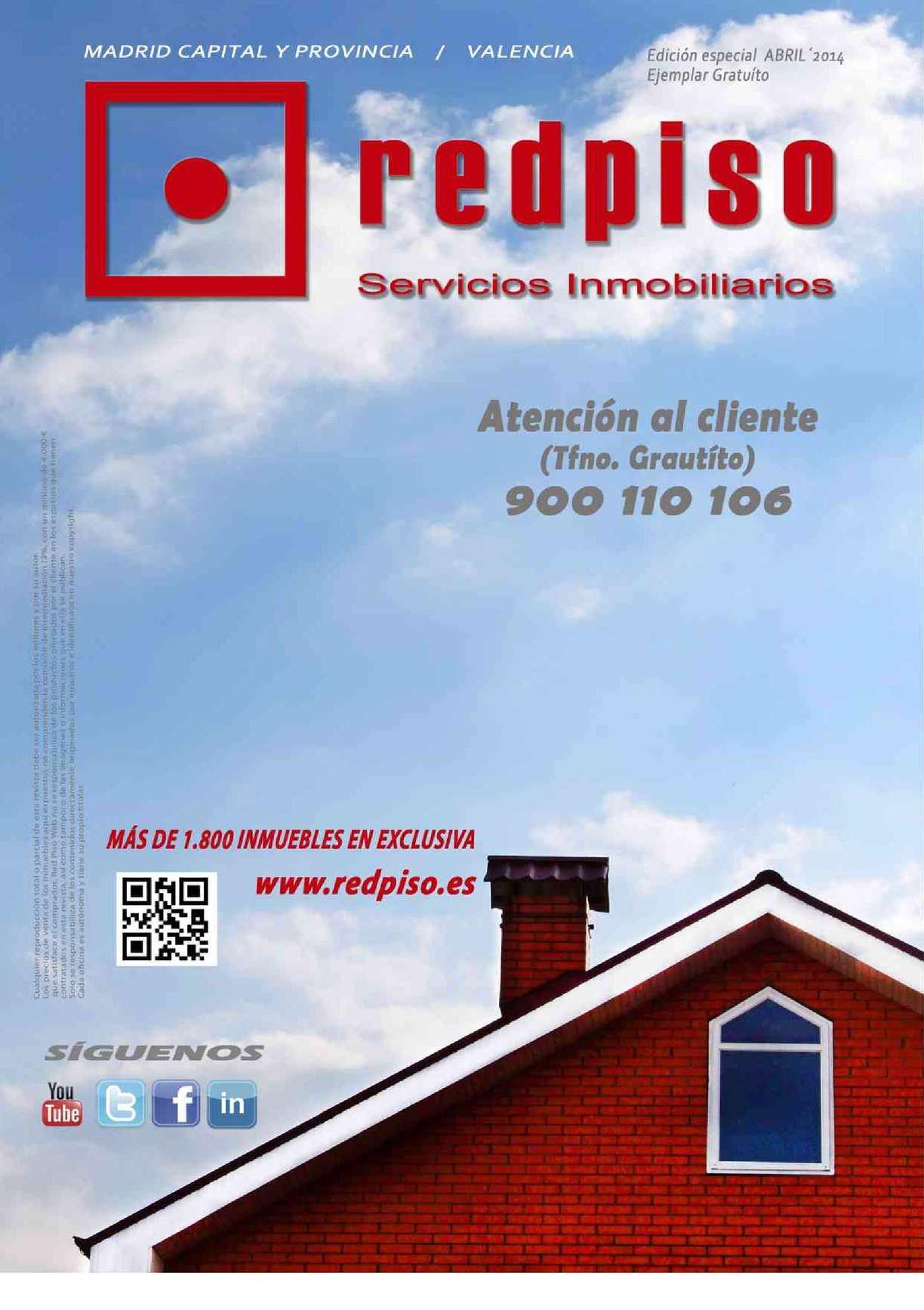 REVISTA INMOBILIARIA REDPISO (EDICIÓN ESPECIAL A4)