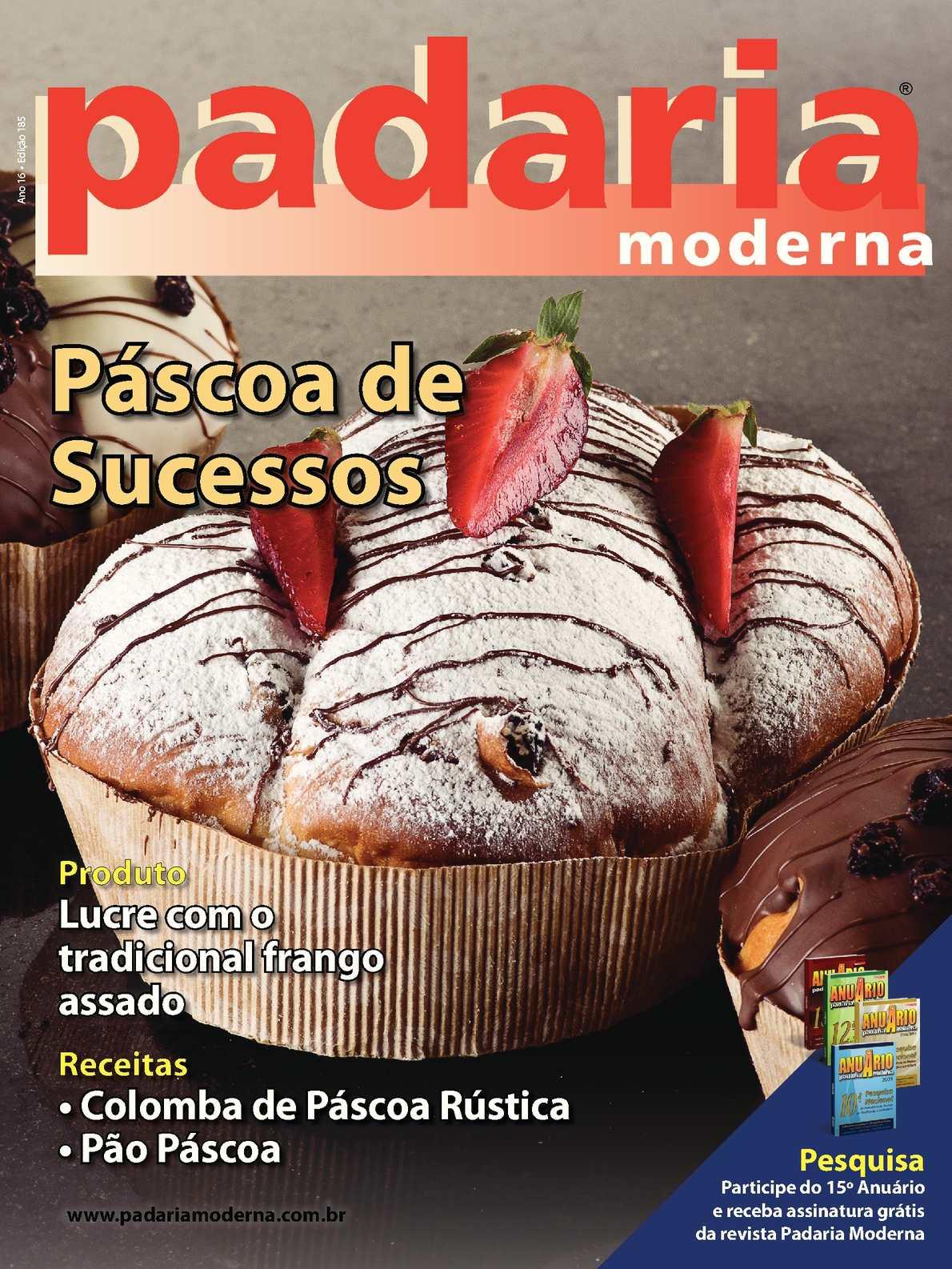 Revista Padaria Moderna - Edição 185