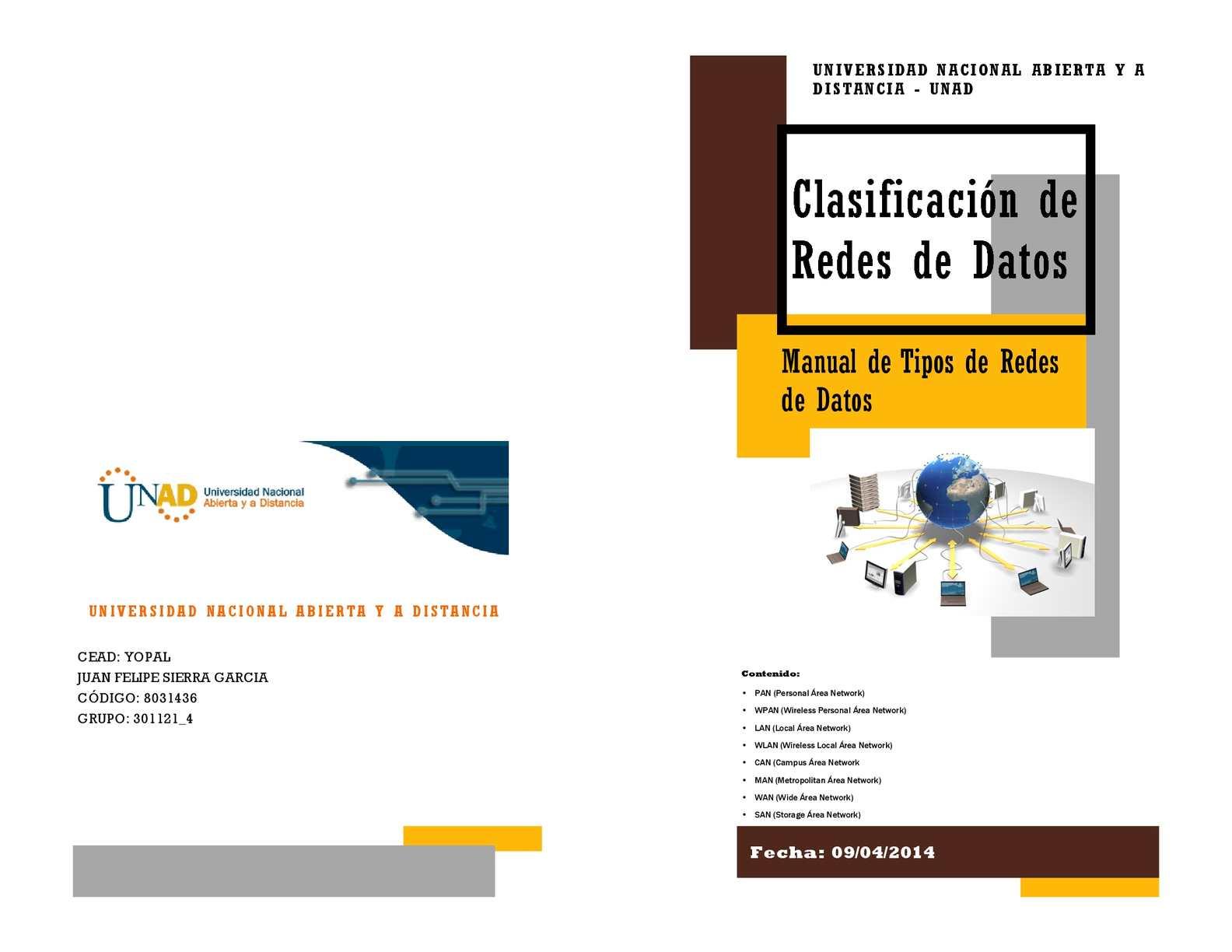 Calaméo - Clasificación de Redes
