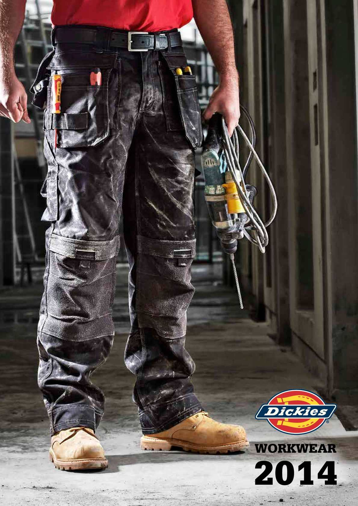 Calam 233 O Dickies Uk 2014 Workwear Catalogue