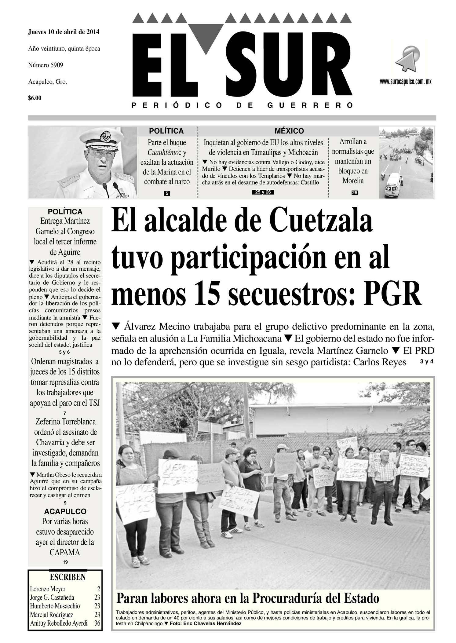 Calaméo - El Sur Jueves 10042014.pdf