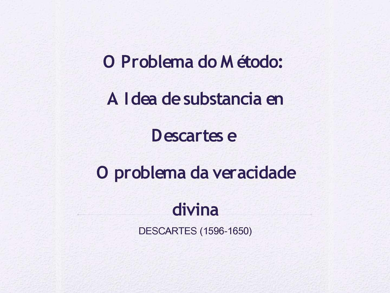 Descartes: selectividade