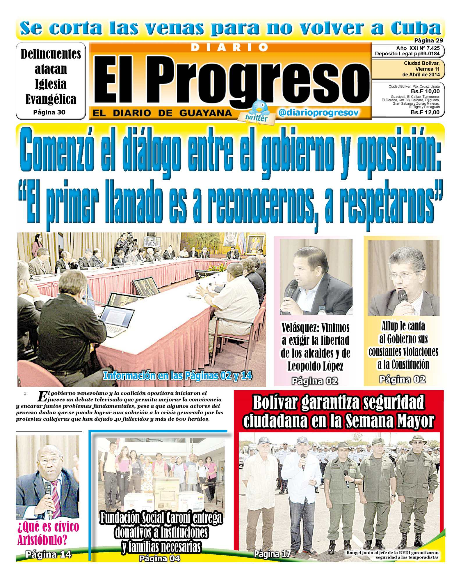 Calaméo - DIARIO EL PROGRESO EDICIÓN DIGITAL 11-04-2014