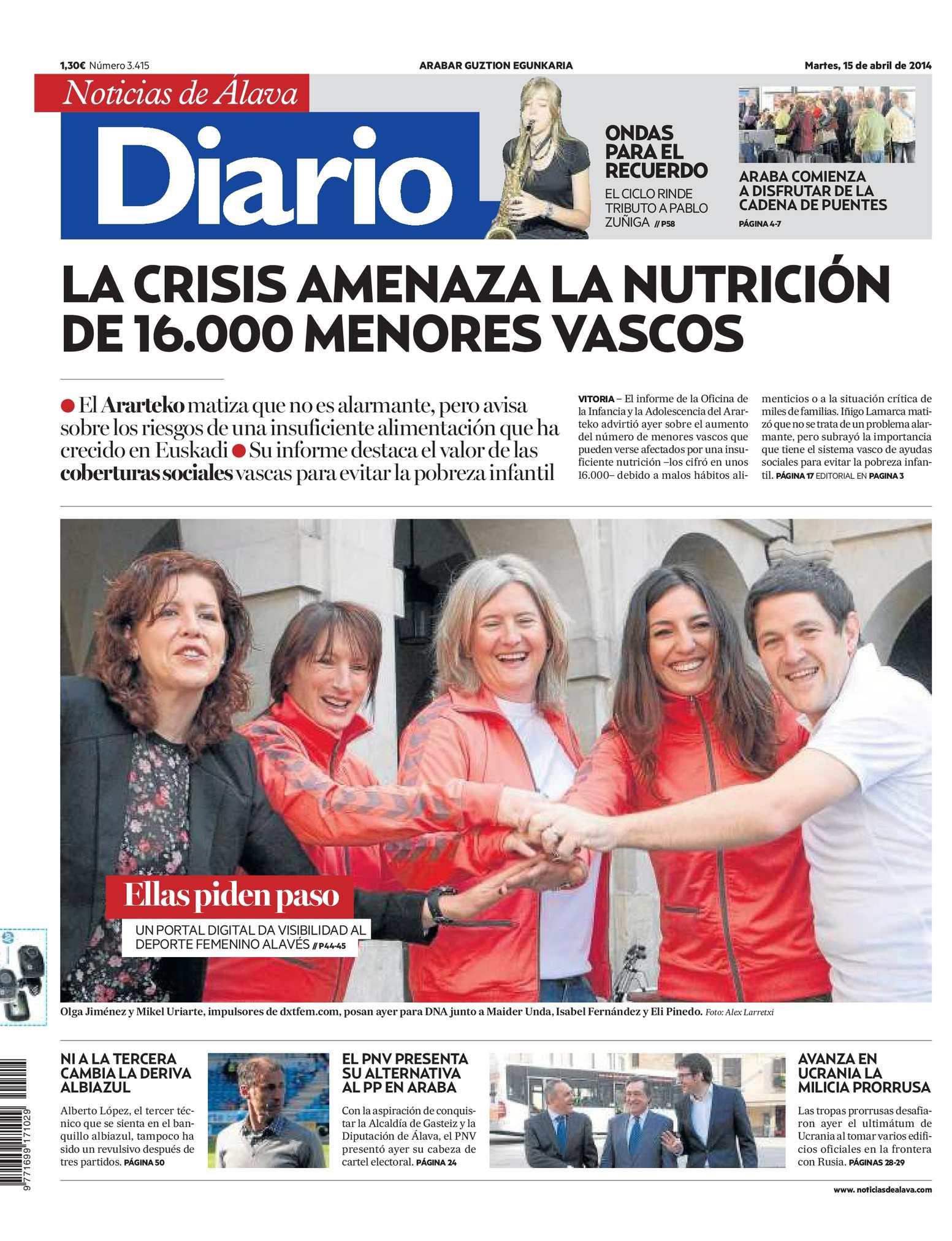 Calaméo - Diario de Noticias de Álava 20140415