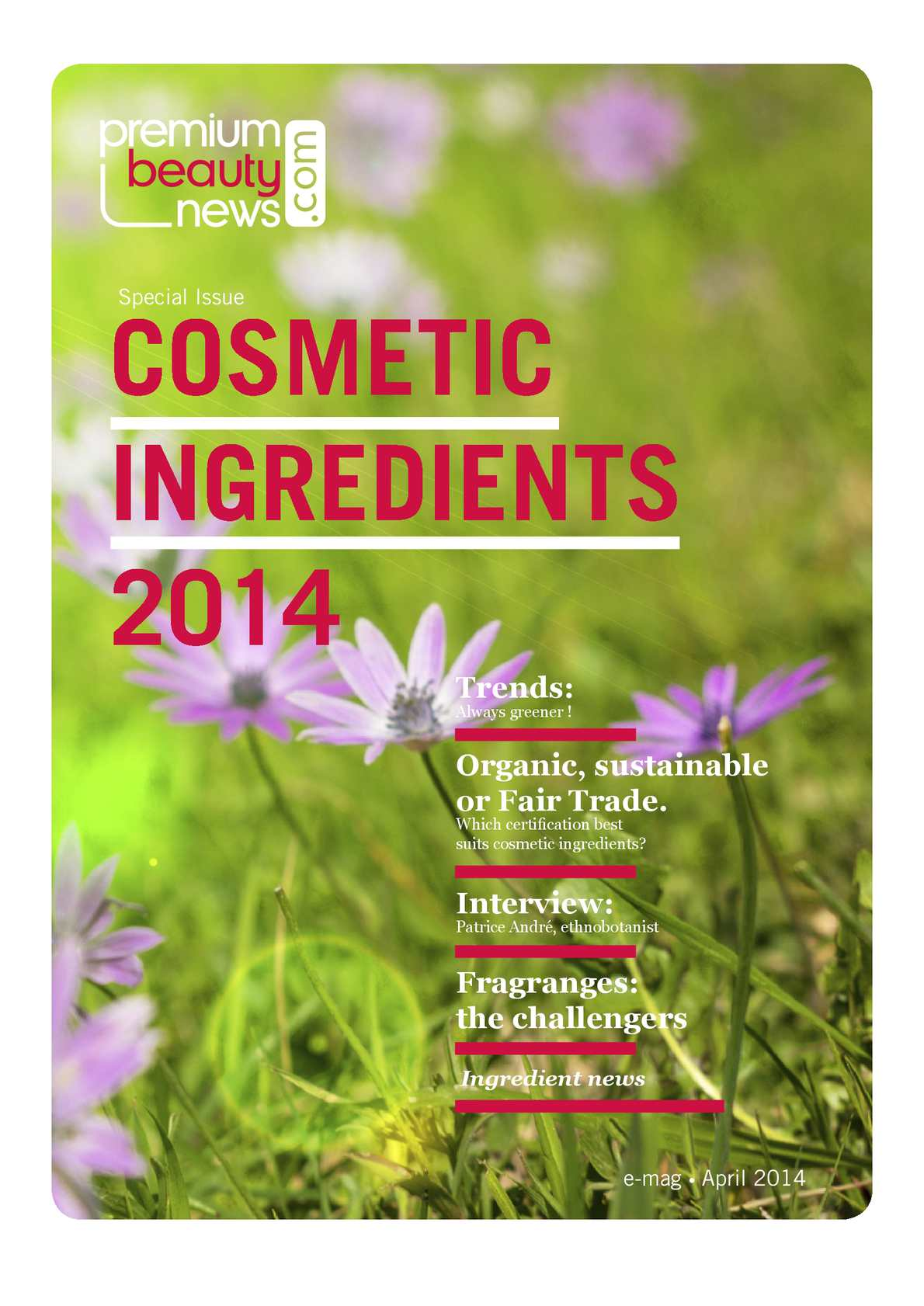Calameo - cosmetic ingredients - special issue, premiumbeautynews.com.