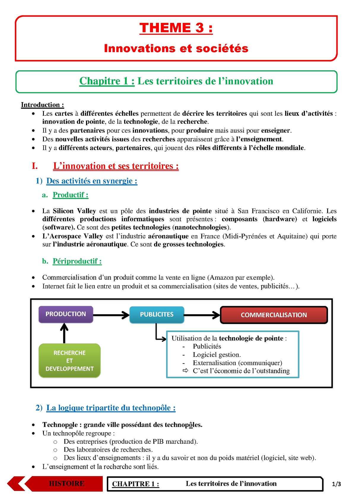 TS - HISTOIRE-GEOGRAPHIE - Chapitre 5 | JéSky.fr
