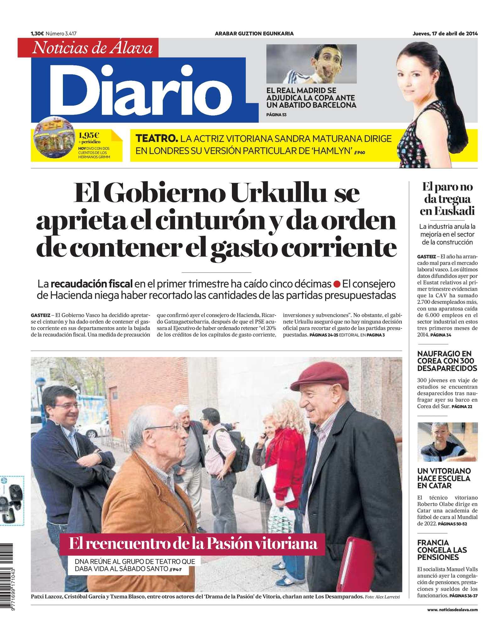 Calaméo - Diario de Noticias de Álava 20140417