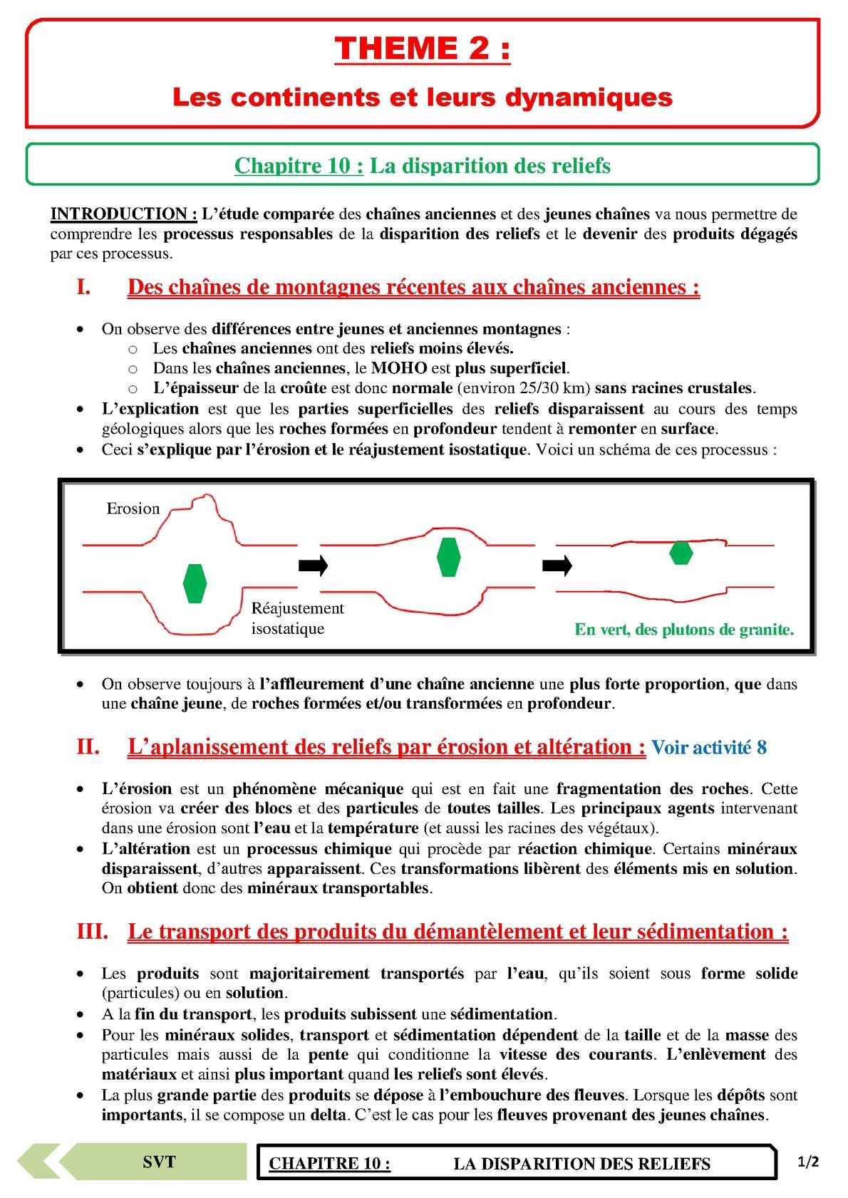 TS - SVT - Chapitre 10 | JéSky.fr