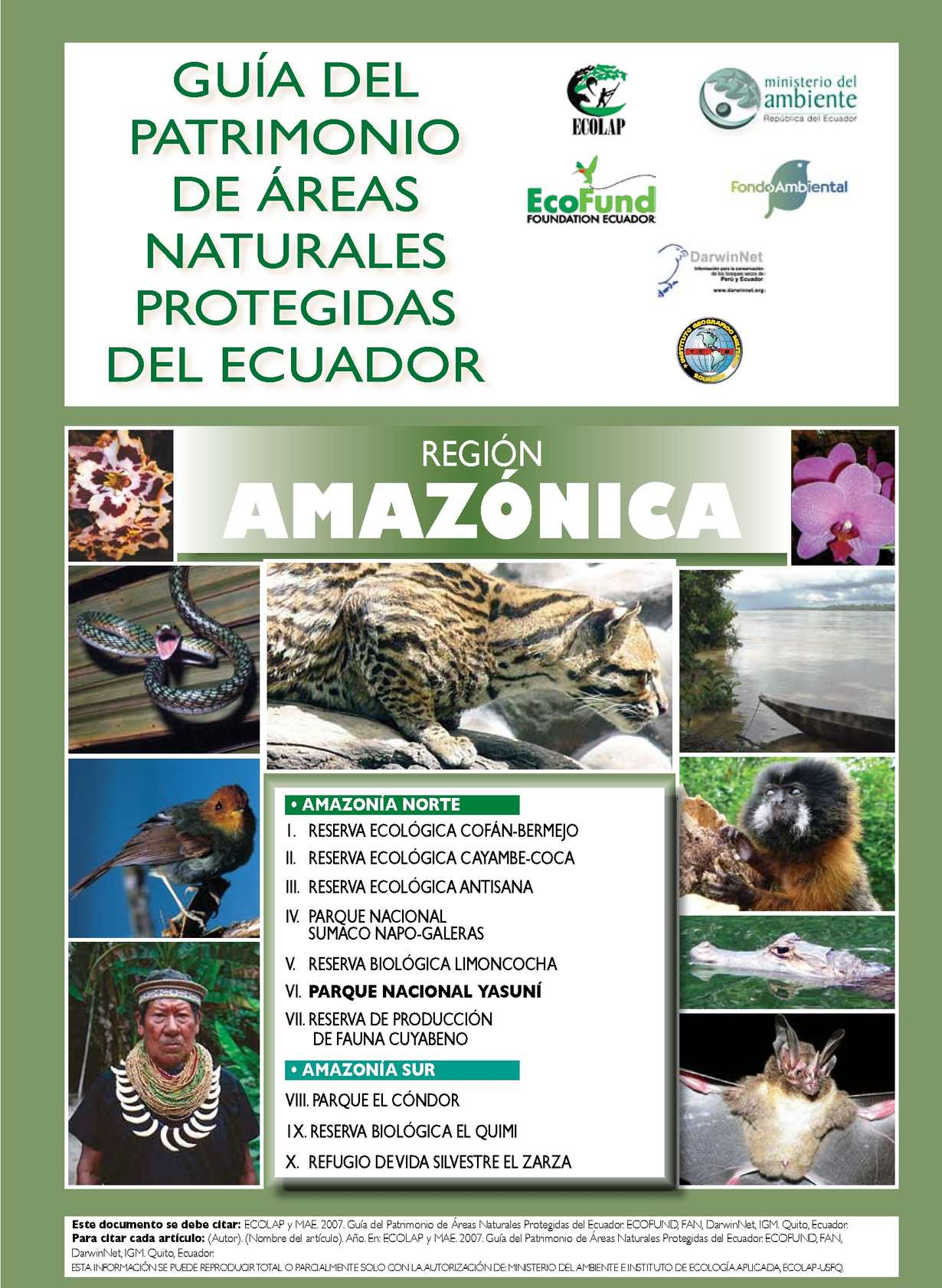 Guia de patrimonio Ecuatoriano_ Amazonia