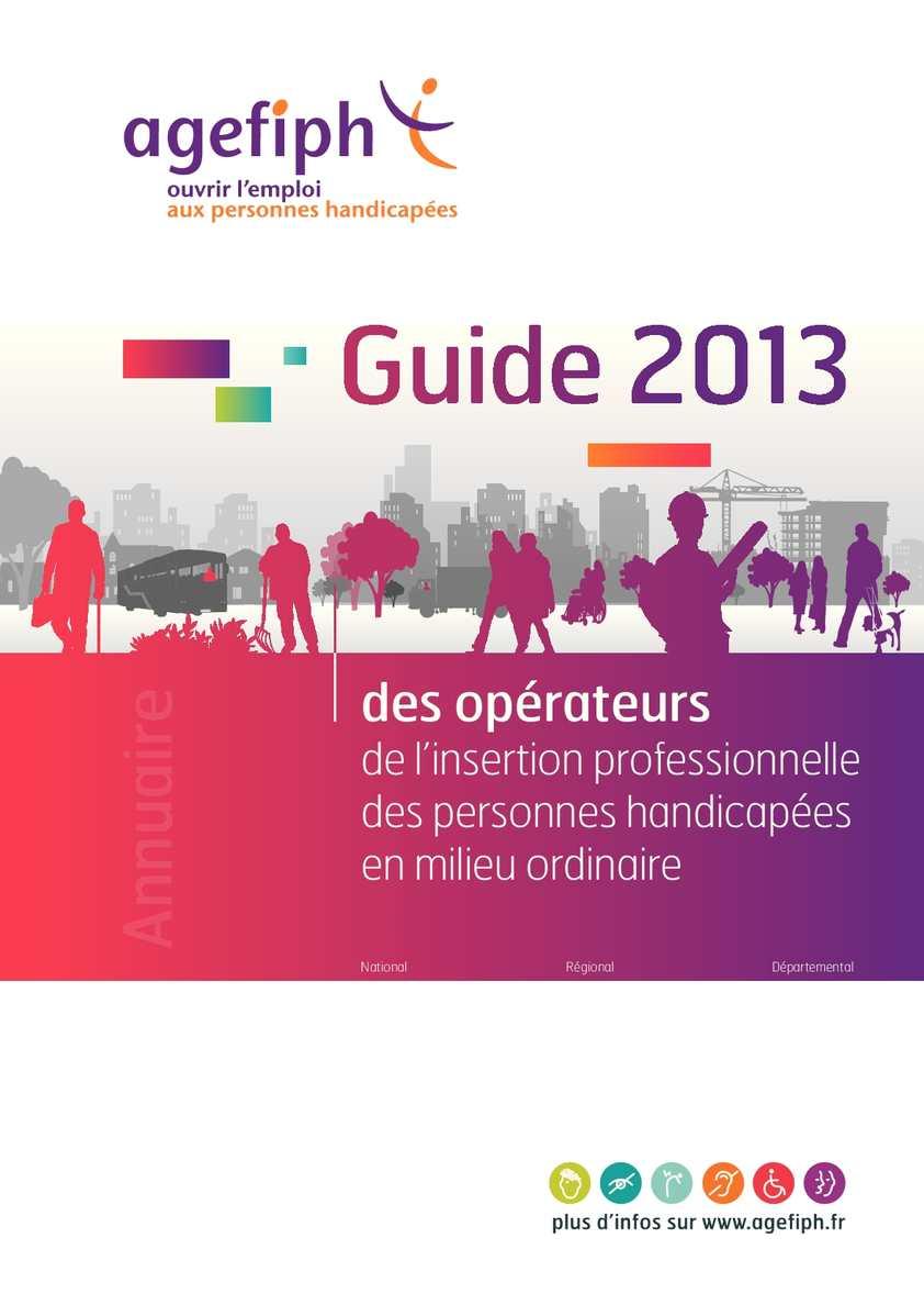 Guide des opérateurs 2013