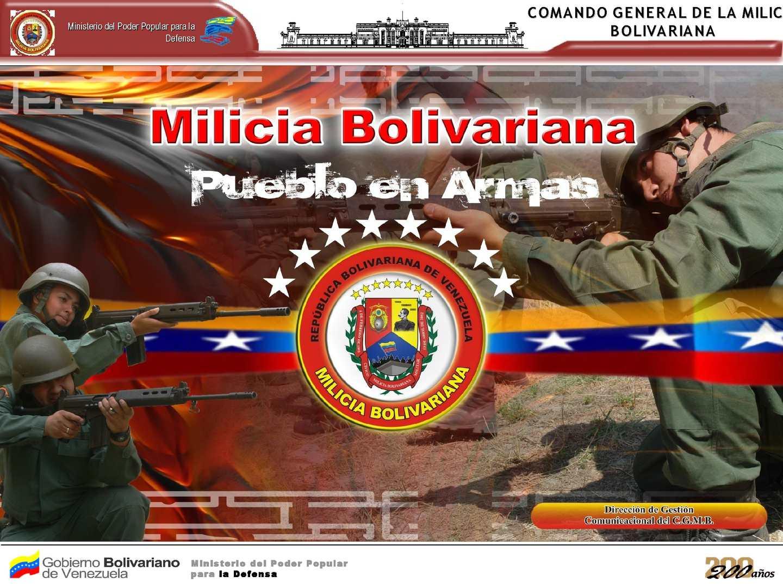 Milicia Bolivariana Complemento