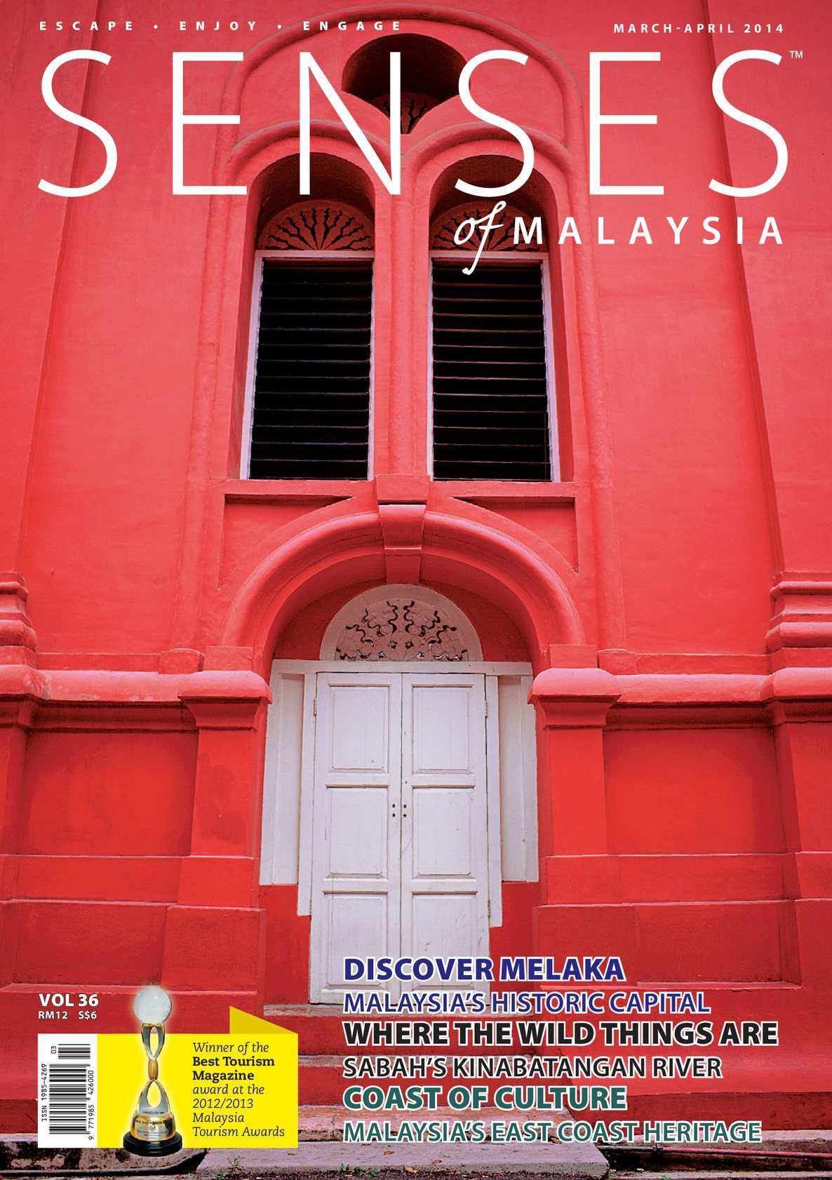 Calamo Senses Of Malaysia March Apr 2014 Andrew Smith Slim Fit Chinos Cokelat Muda 36