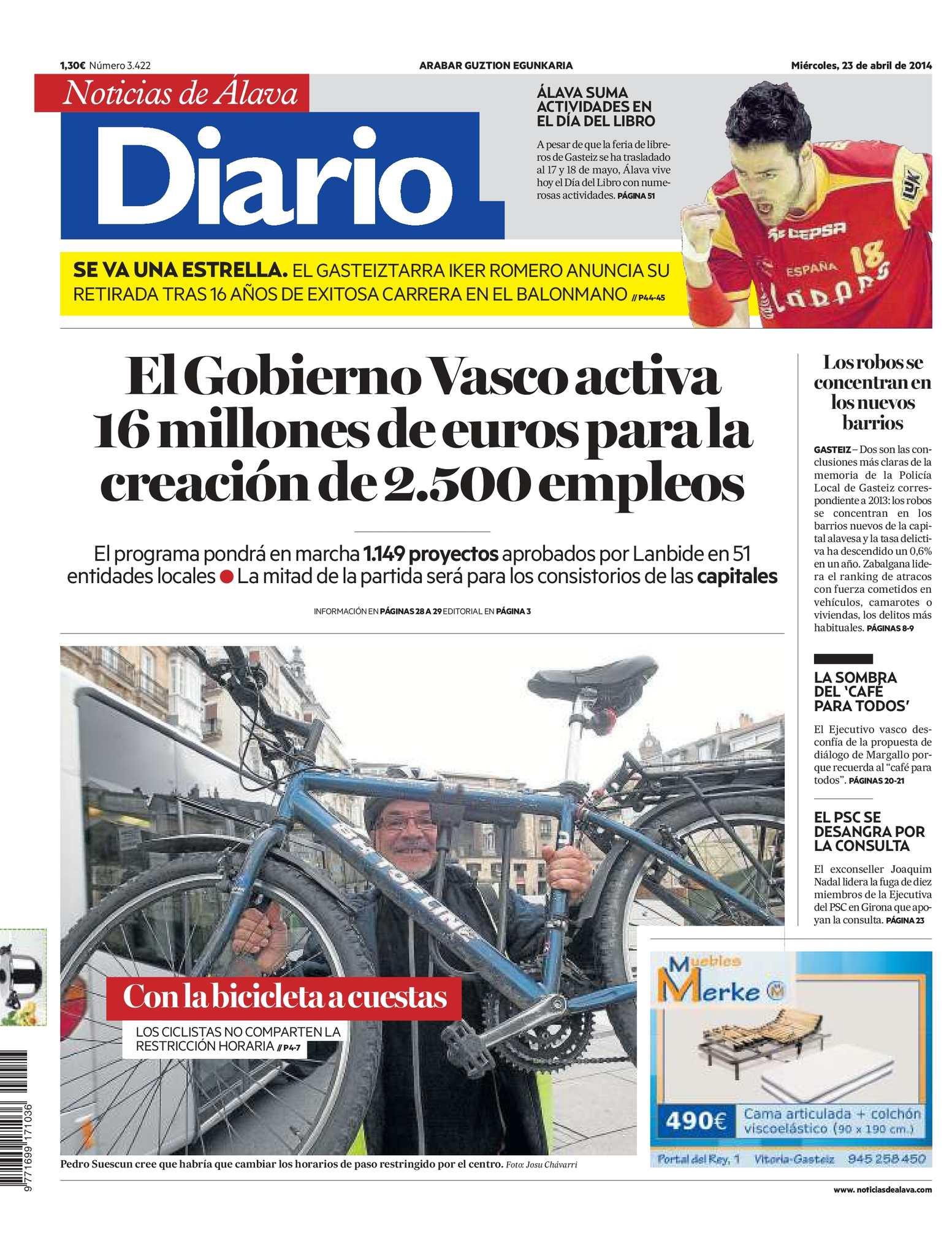 Calaméo - Diario de Noticias de Álava 20140423