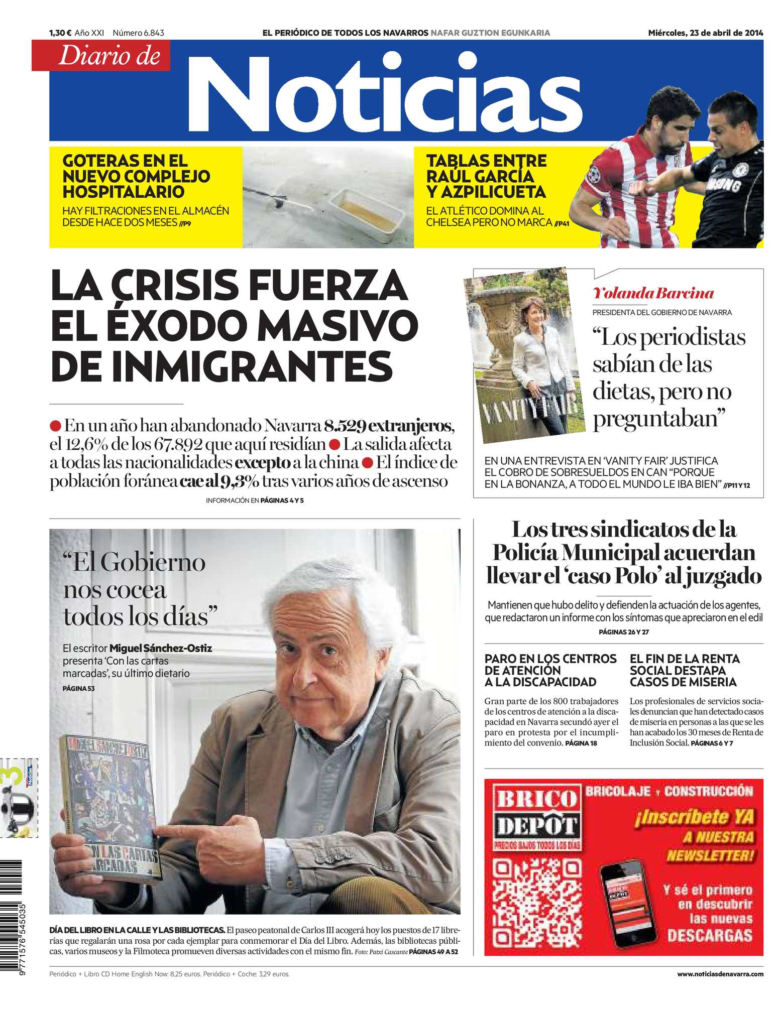 Calaméo - Diario de Noticias 20140423