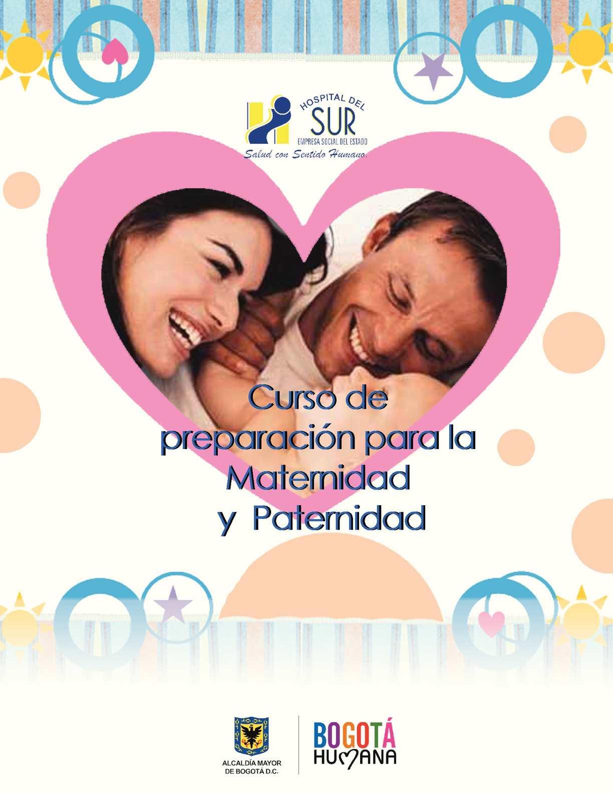 Cartilla Curso de la Maternidad y Paternidad
