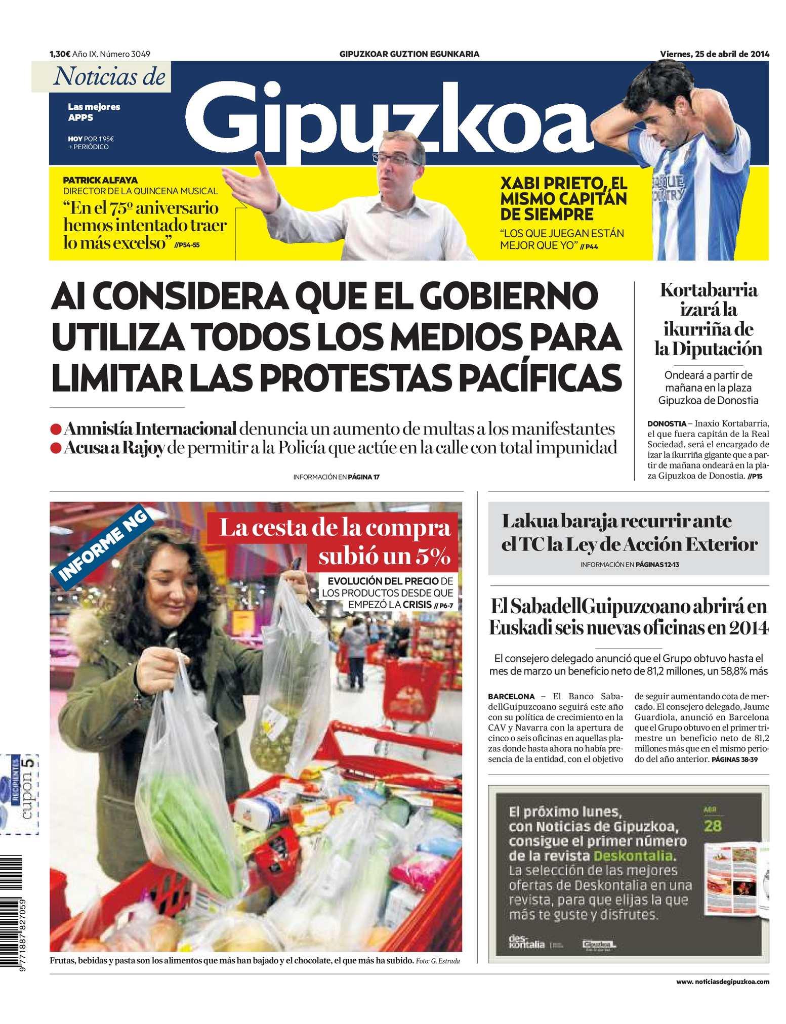 Calaméo - Noticias de Gipuzkoa 20140425